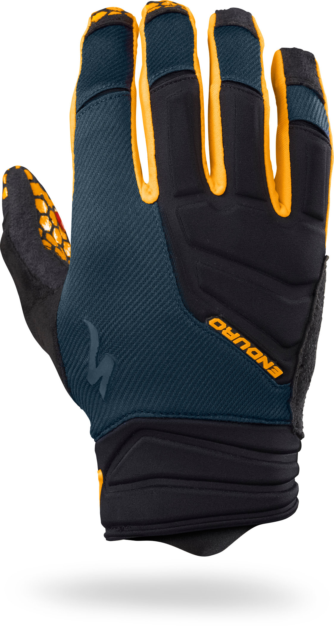 SPECIALIZED ENDURO GLOVE LF NVY/GLDORG XL - Alpha Bikes