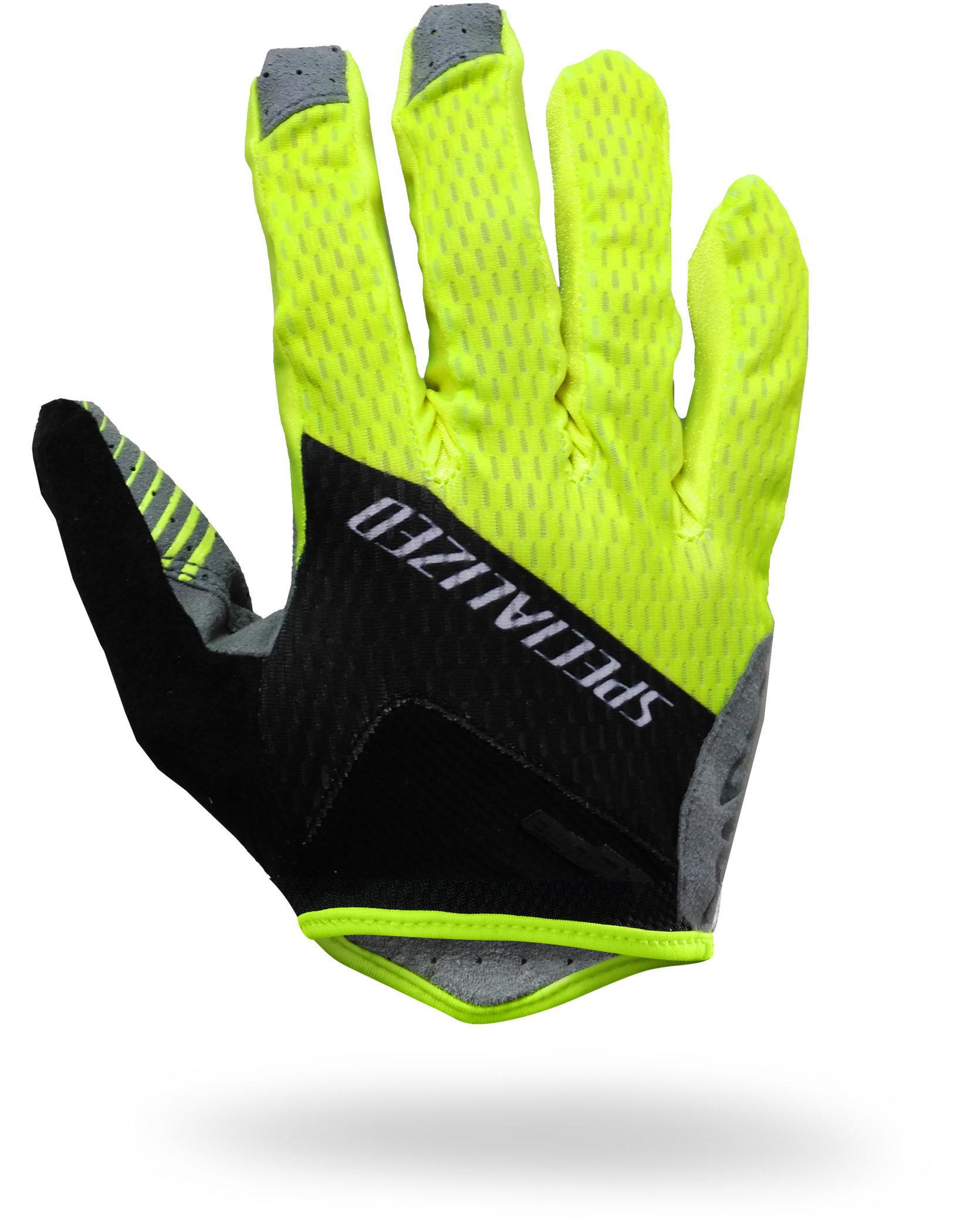 SPECIALIZED XC LITE GLOVE LF BLK/NEON YEL TEAM XL - Alpha Bikes