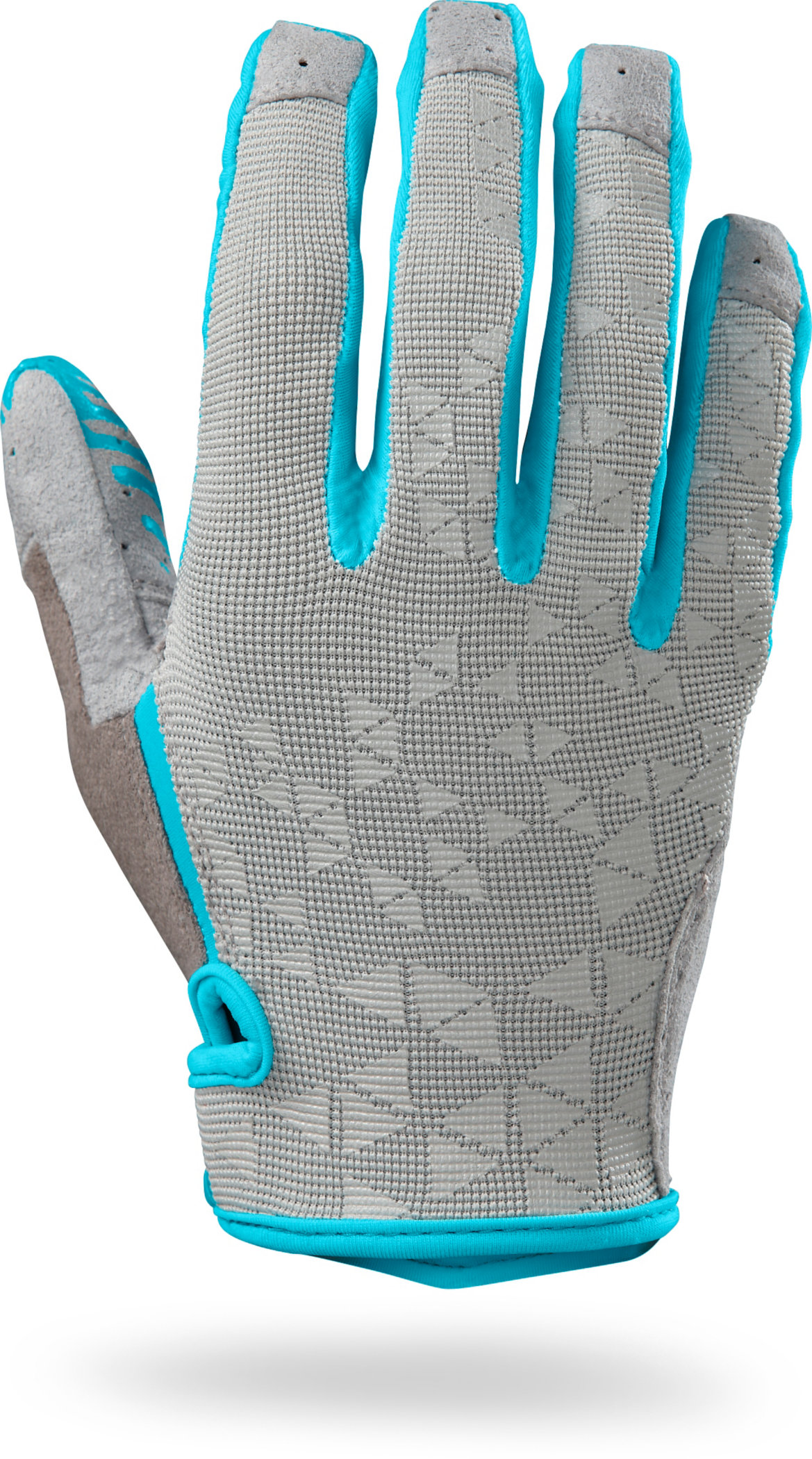SPECIALIZED LODOWN GLOVE LF WMN LTGRY/TUR L - Bikedreams & Dustbikes
