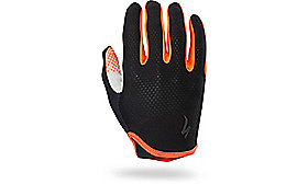 BODY GEOMETRY GRAIL GLOVE LONG BLK/RKTRED M
