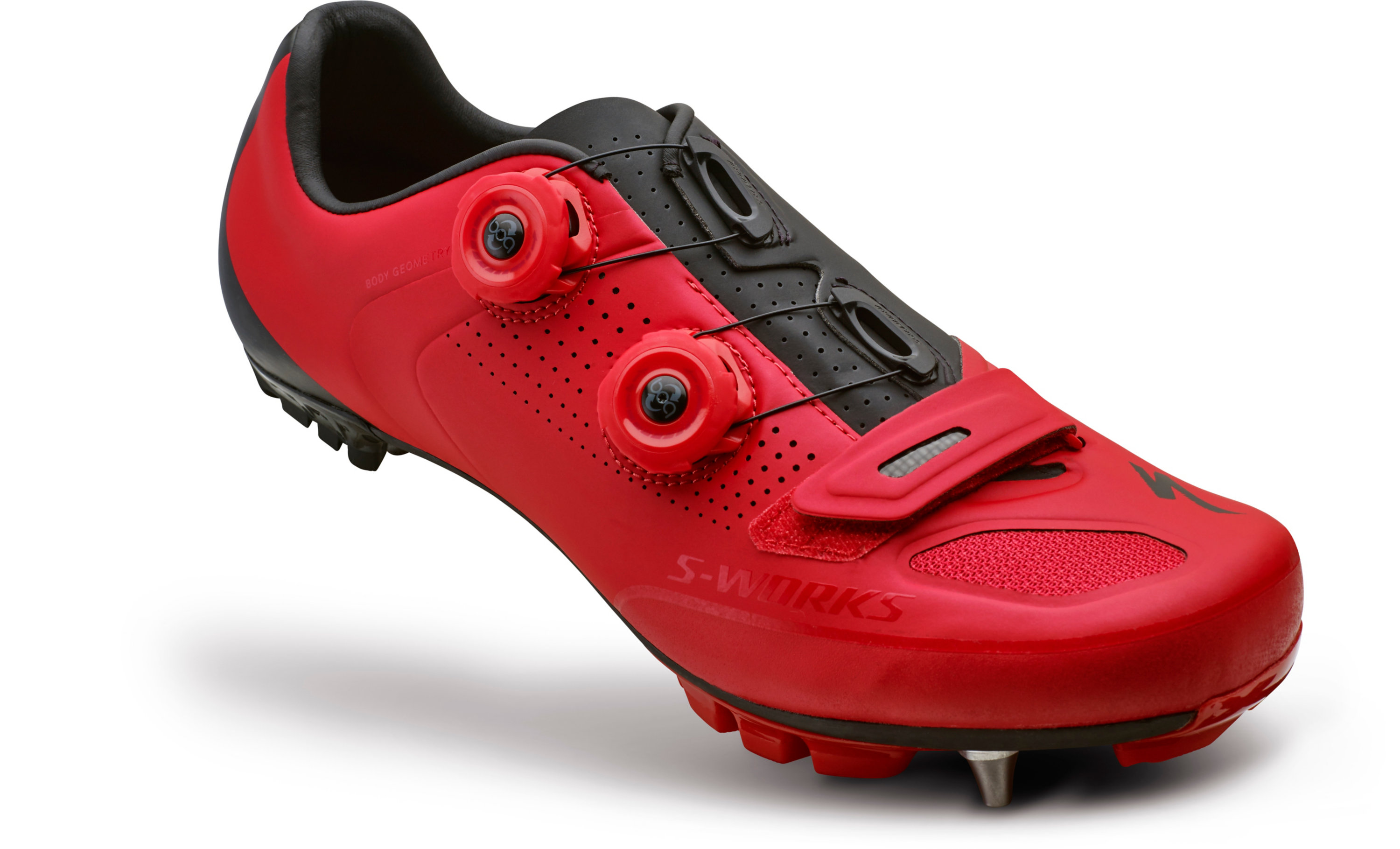 SPECIALIZED SW XC MTB SHOE RED/BLK 39/6.5 - Bikedreams & Dustbikes