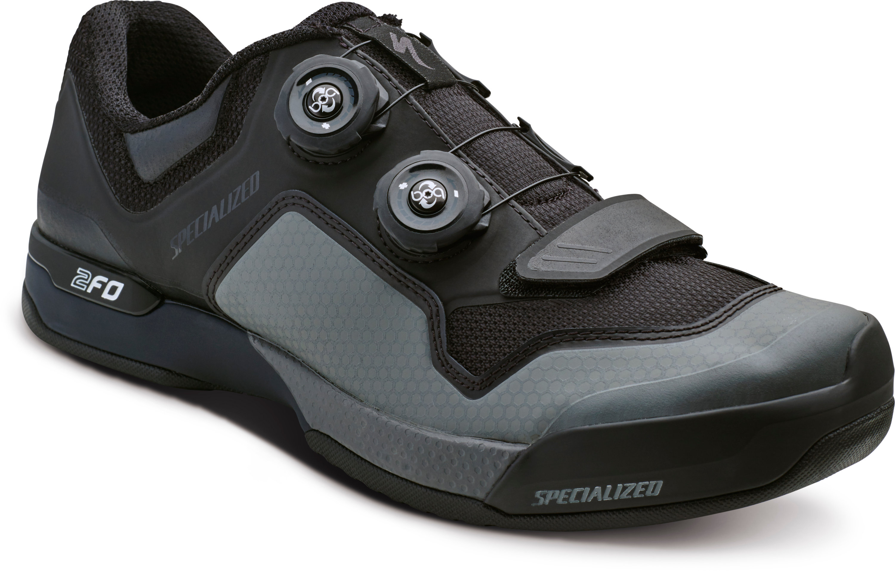 SPECIALIZED 2FO CLIPLITE MTB SHOE BLK/DKGRY 39/6.5 - Pulsschlag Bike+Sport