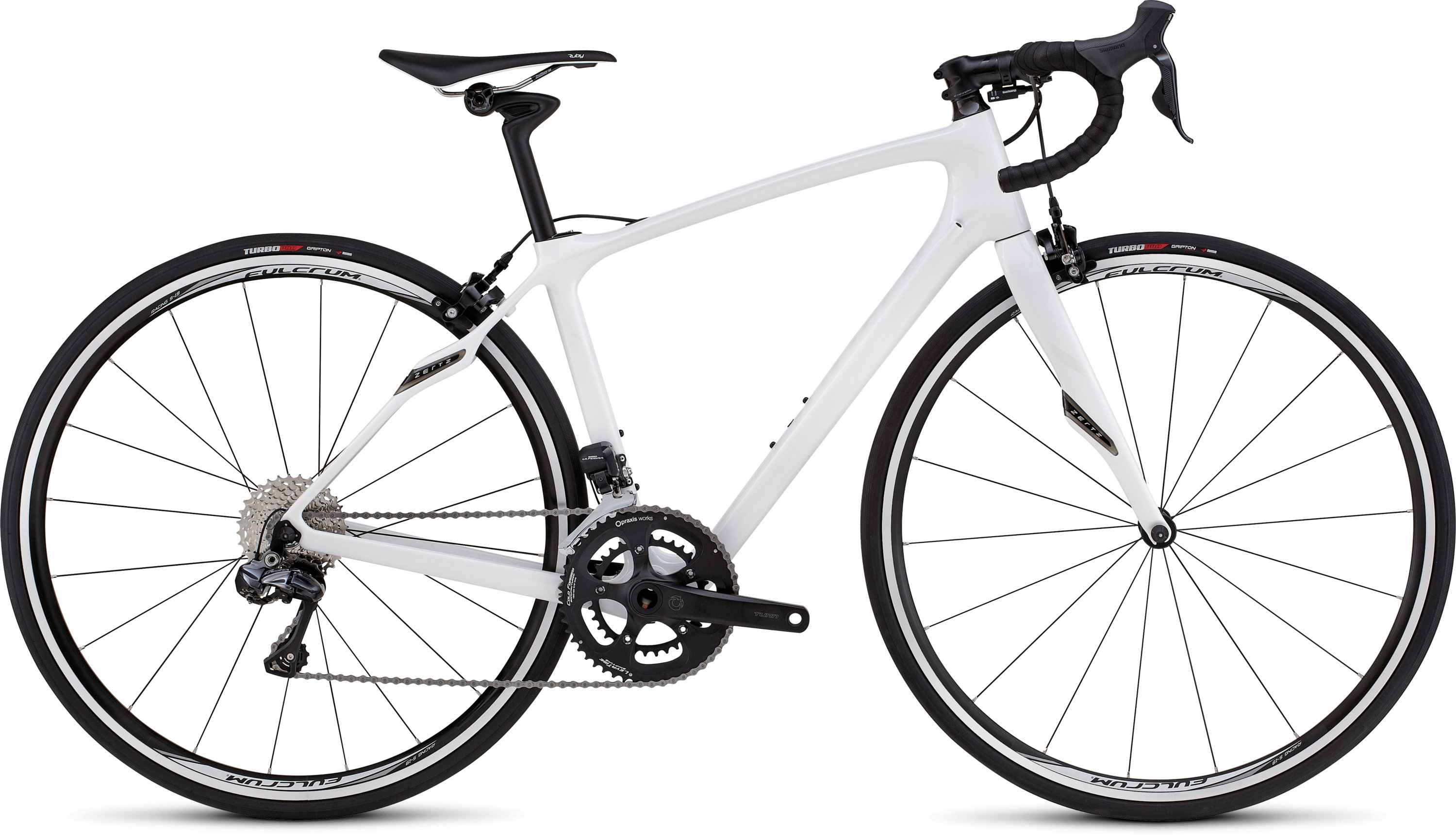 SPECIALIZED RUBY COMP UDI2 MET WHT/WHT 48 - SPECIALIZED RUBY COMP UDI2 MET WHT/WHT 48