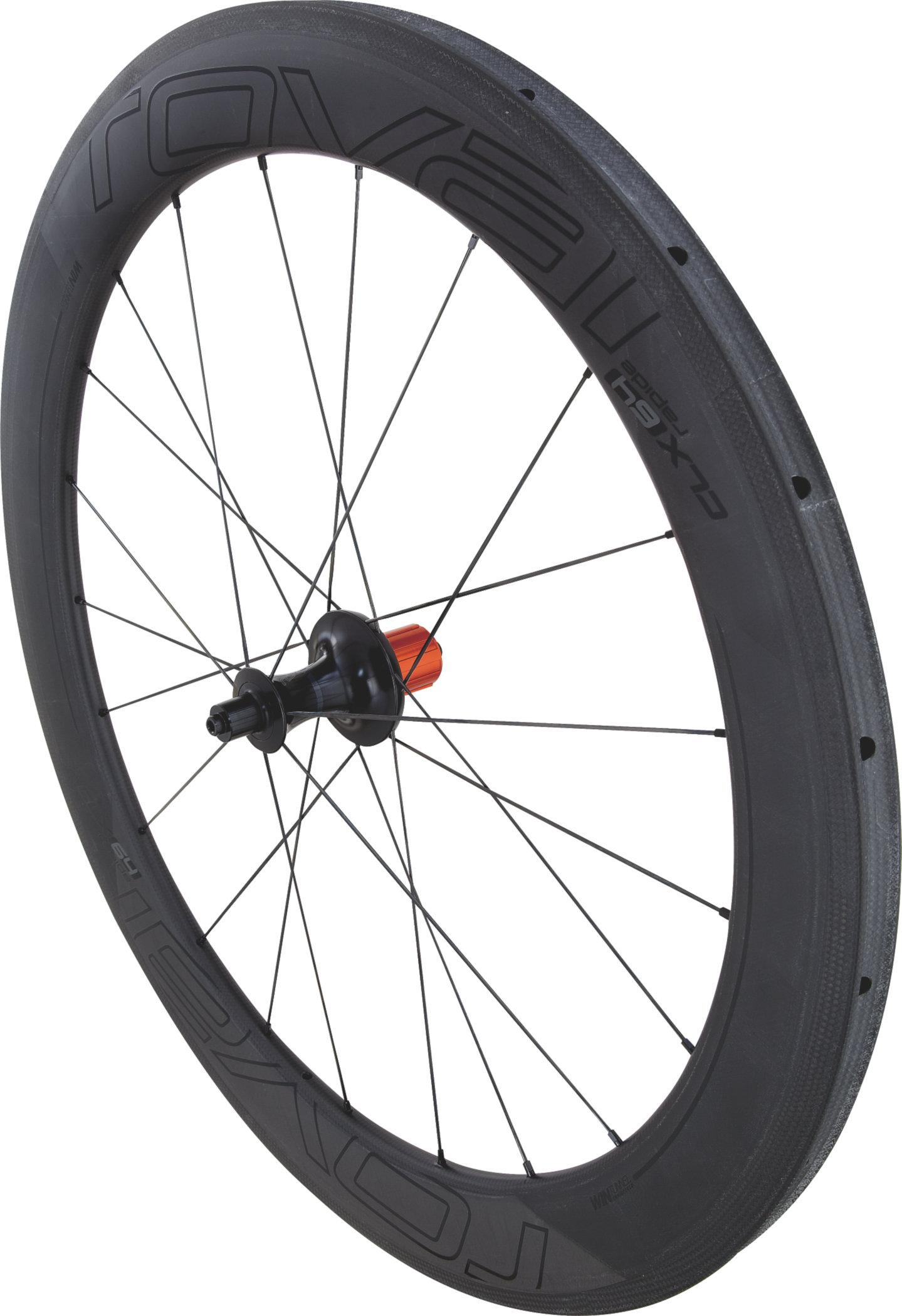 Specialized Roval CLX 64 – Tubular Rear Satin Carbon/Gloss Black 700c - Alpha Bikes