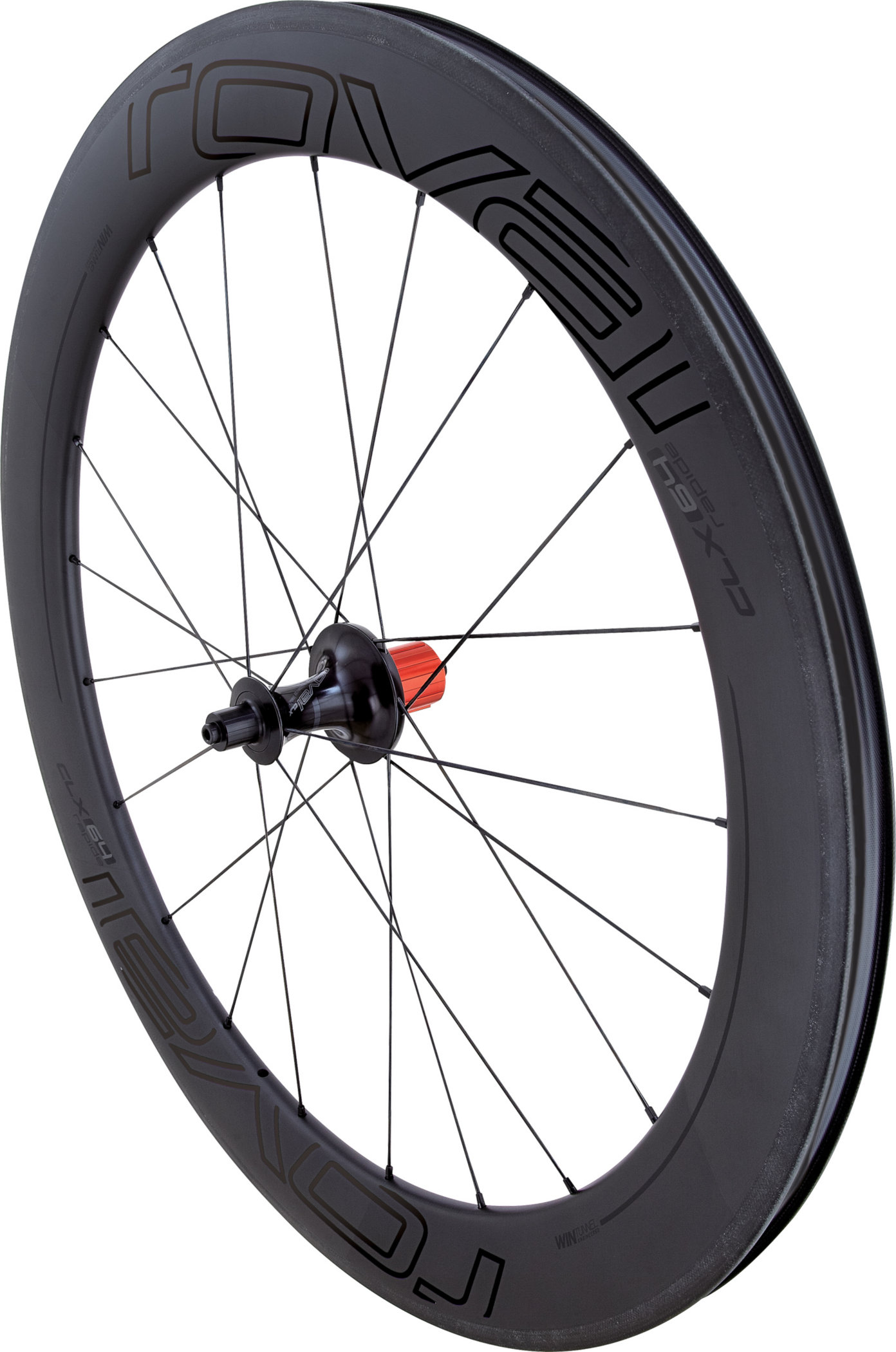 Specialized Roval CLX 64 – Rear Satin Carbon/Gloss Black 700c - Specialized Roval CLX 64 – Rear Satin Carbon/Gloss Black 700c