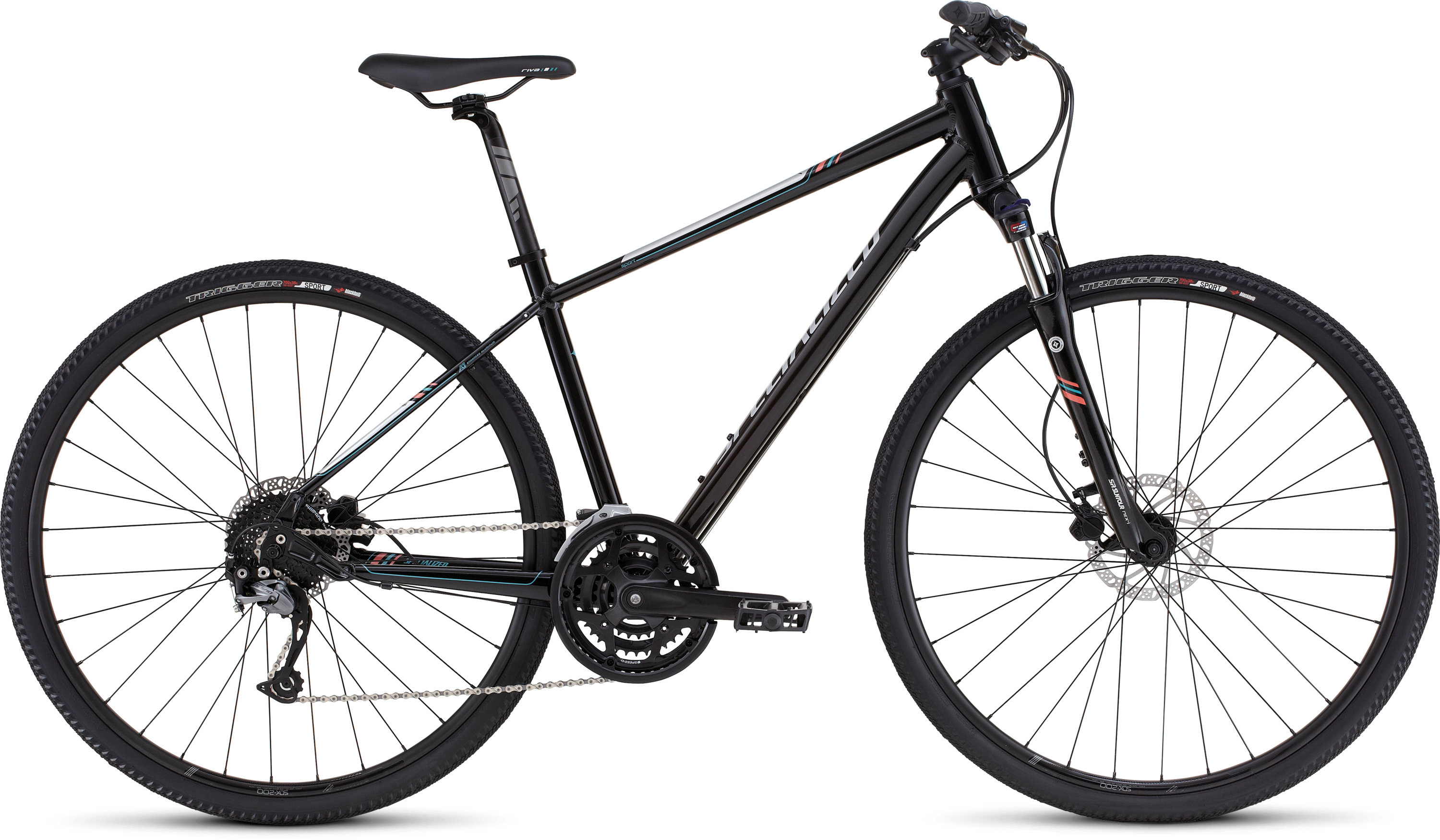 SPECIALIZED ARIEL SPORT DISC METBLK/SIL/PRLCRL/TUR XS - Bikedreams & Dustbikes
