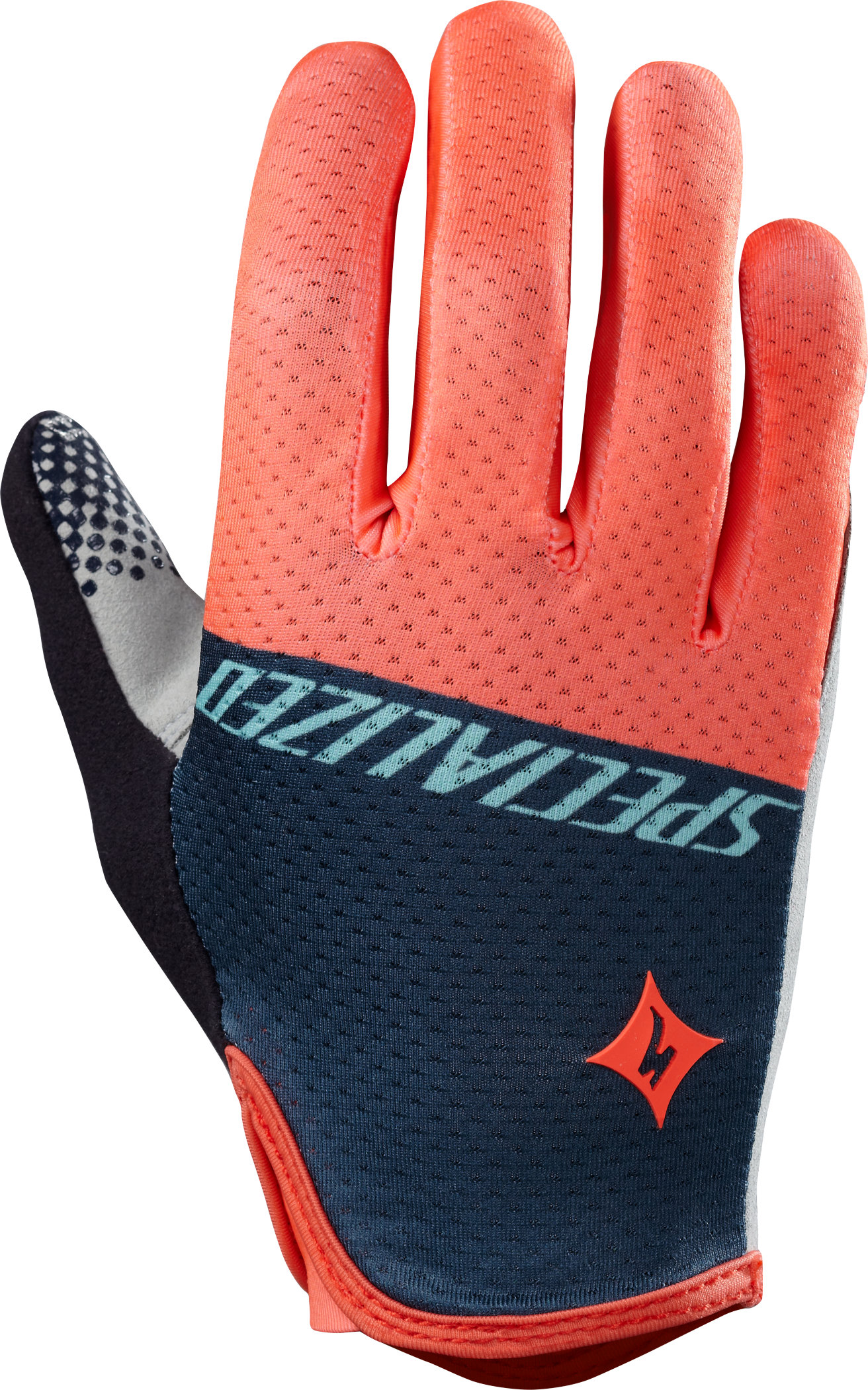 SPECIALIZED BG GRAIL GLOVE LF WMN NEON CRL TEAM L - Bikedreams & Dustbikes