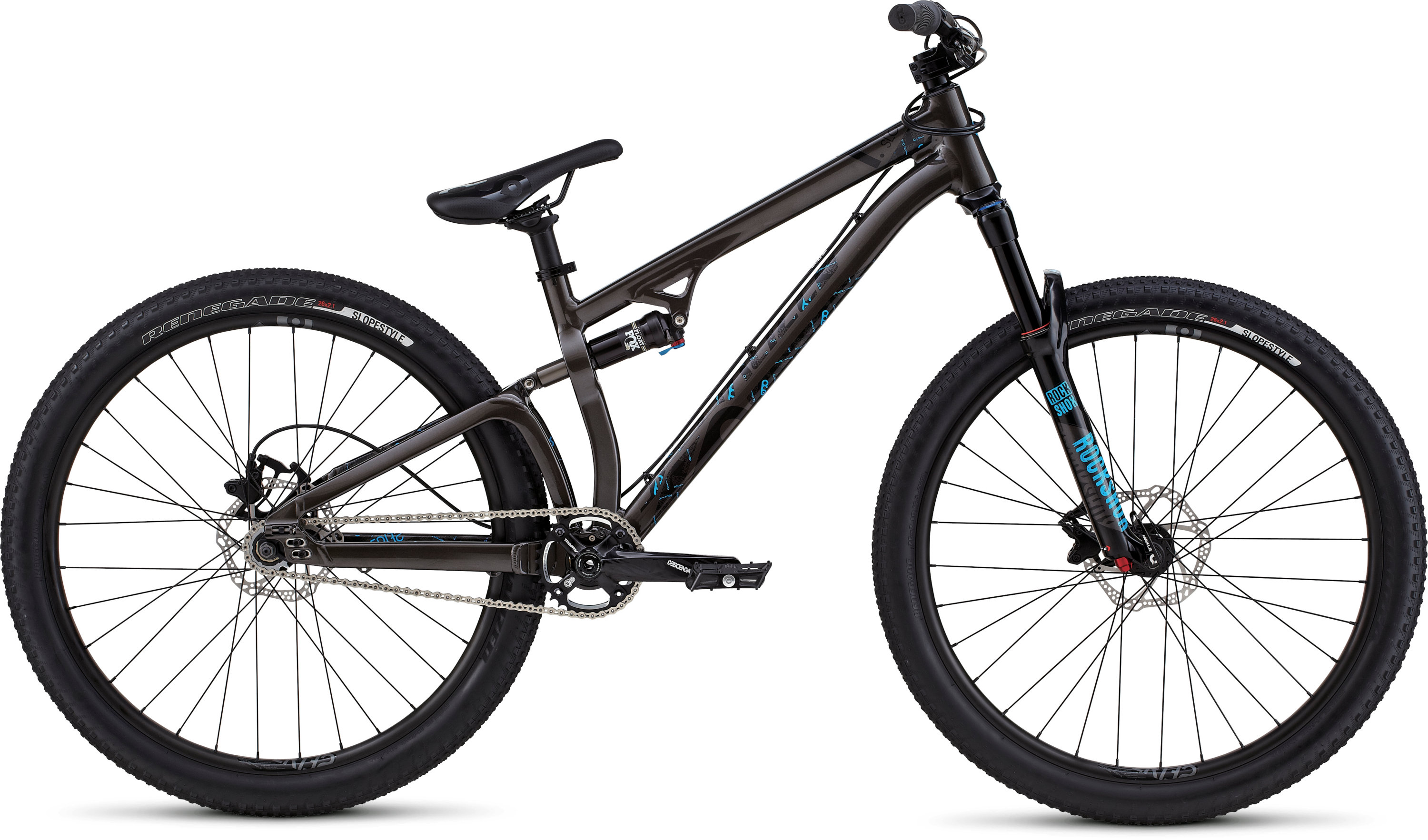 SPECIALIZED P SLOPE WRMCHAR/BLK/CYN 22 - Bike Zone