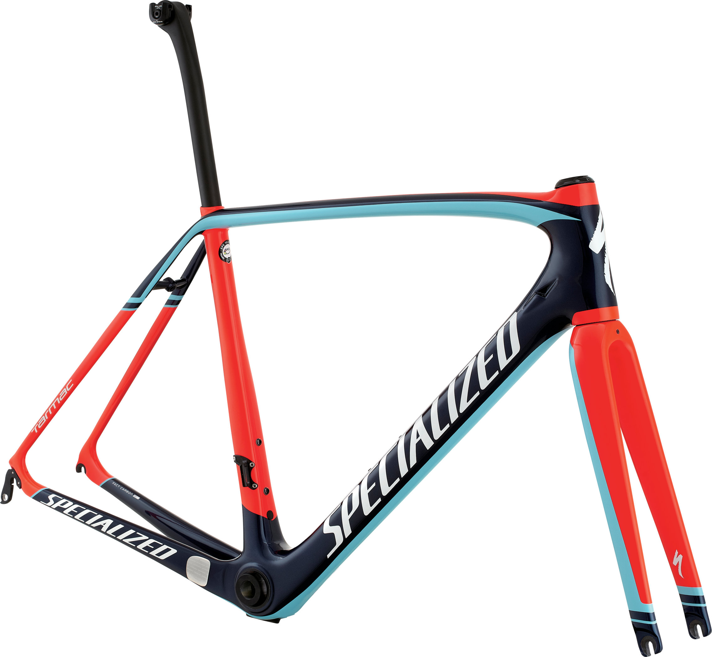 SPECIALIZED TARMAC PRO FRMSET NVY/RKTRED/LTBLU 49 - Bikedreams & Dustbikes