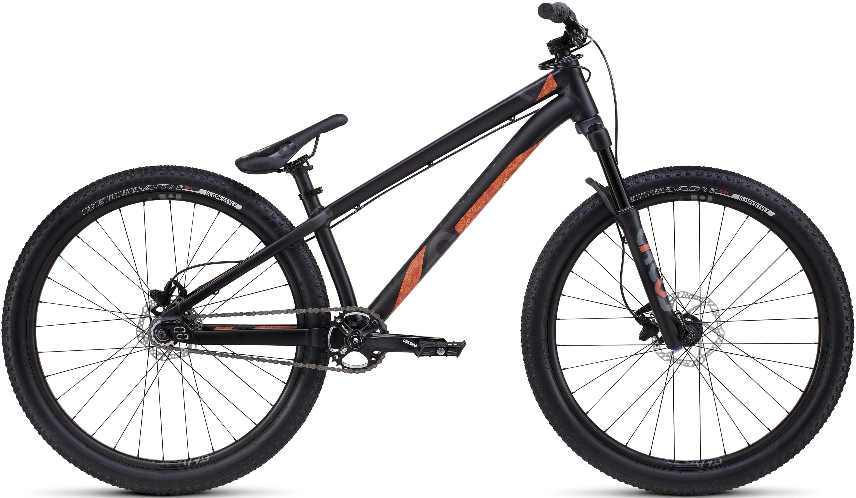 SPECIALIZED P3 BLK/VALORG/CHAR 22 - Bike Zone