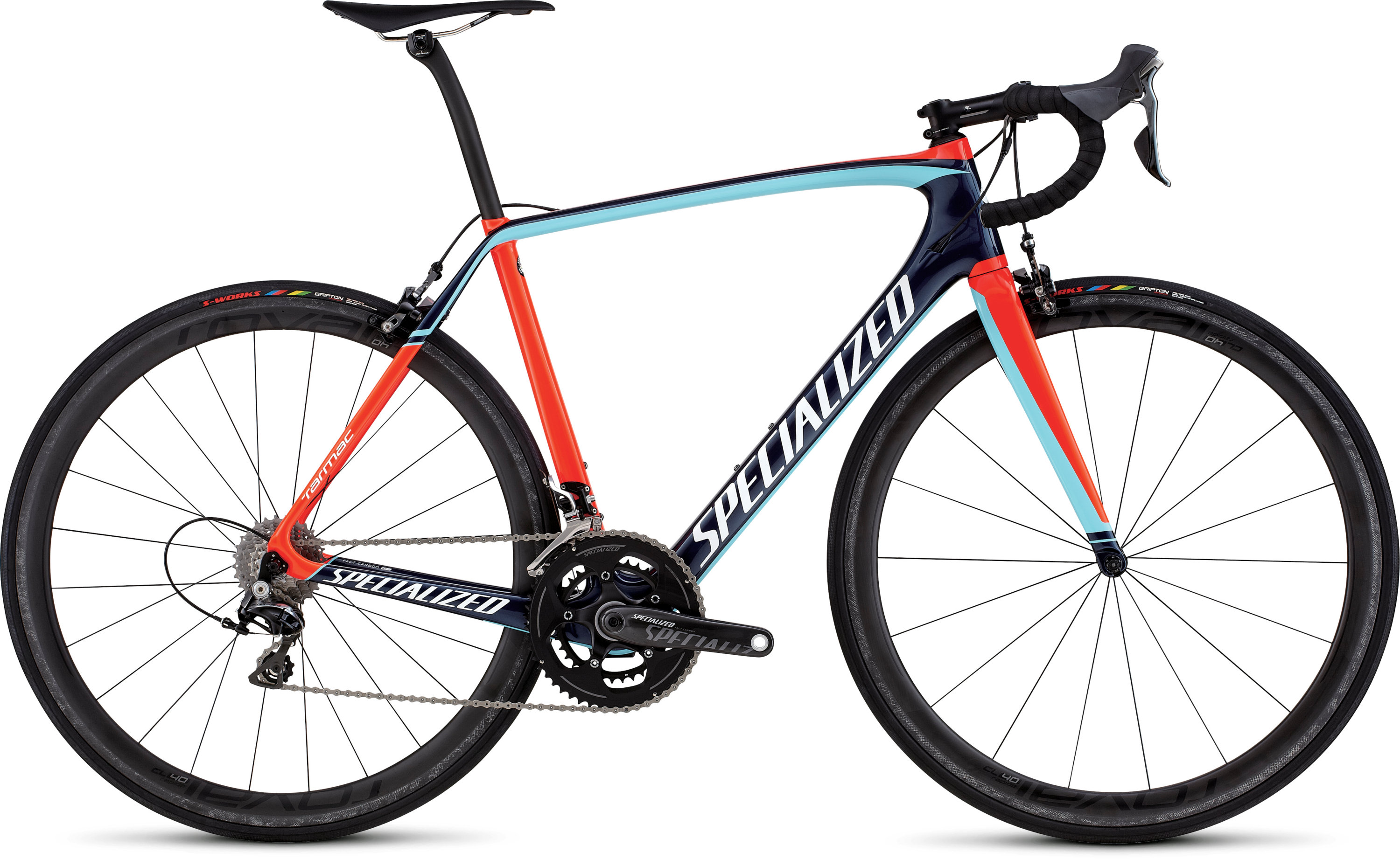 SPECIALIZED TARMAC PRO RACE NVY/RKTRED/LTBLU 49 - Bikedreams & Dustbikes