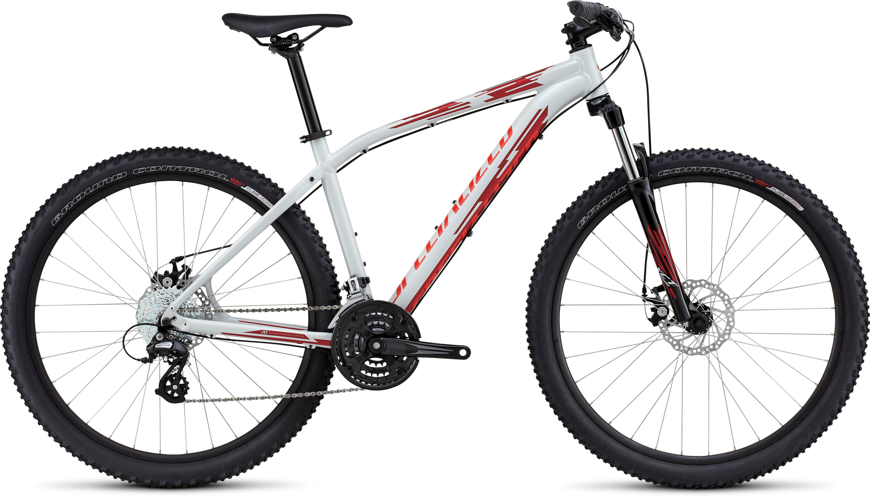 SPECIALIZED PITCH 650B DRTYWHT/CNDYRED/RKTRED XS - schneider-sports