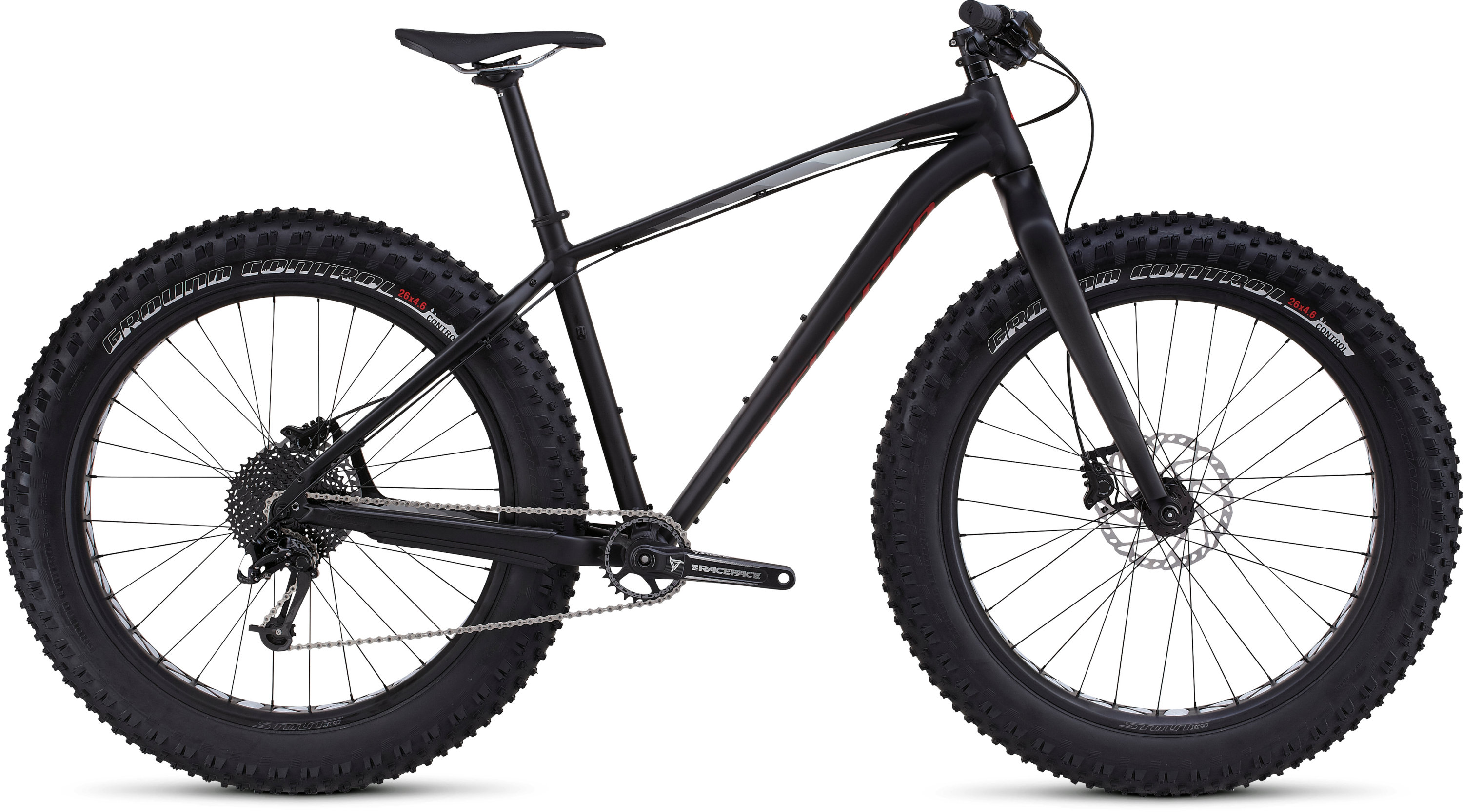 SPECIALIZED FATBOY COMP BLK/WRMCHAR/GRY S - Bikedreams & Dustbikes