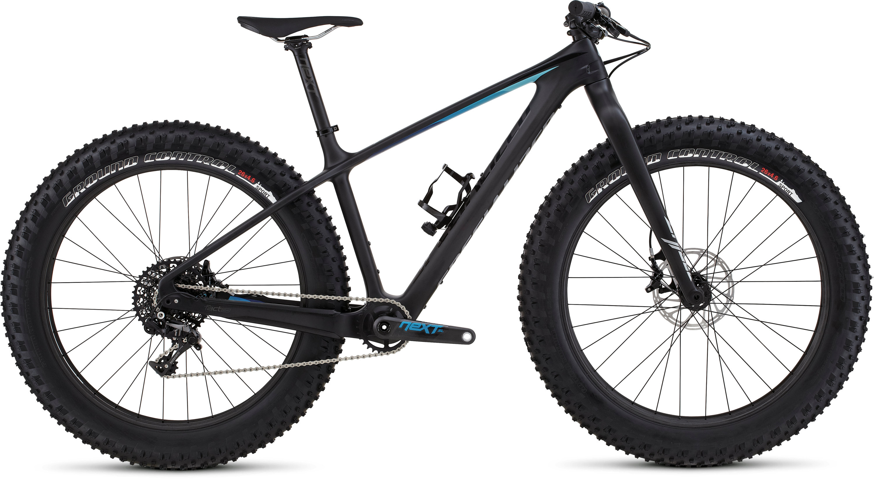 Specialized FATBOY EXPERT CARBON Satin Carbon/Black/Blue Fade S - Pulsschlag Bike+Sport