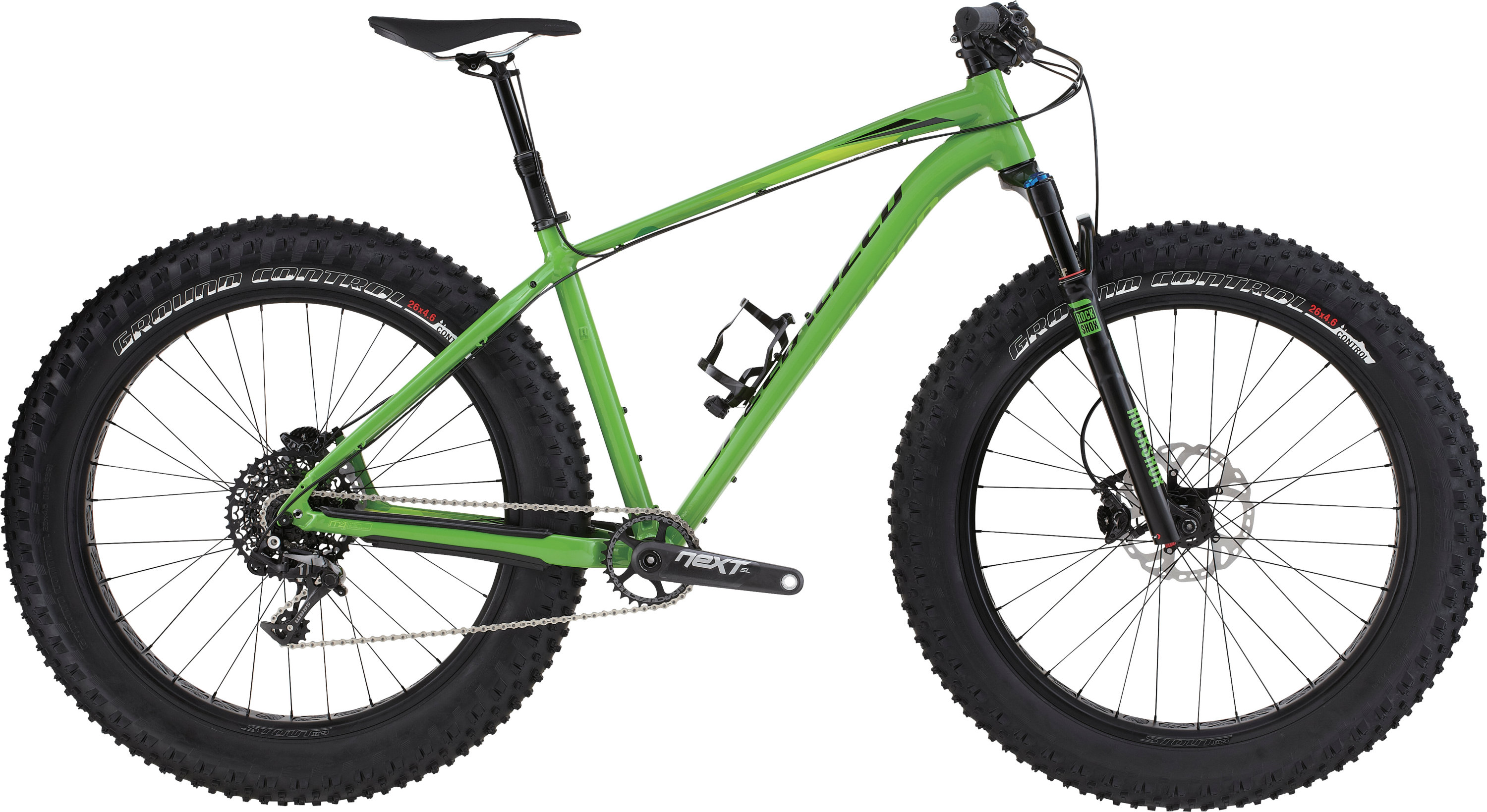 Specialized FatBoy Pro Trail Gloss Moto Green/Black/Green Fade S - Pulsschlag Bike+Sport