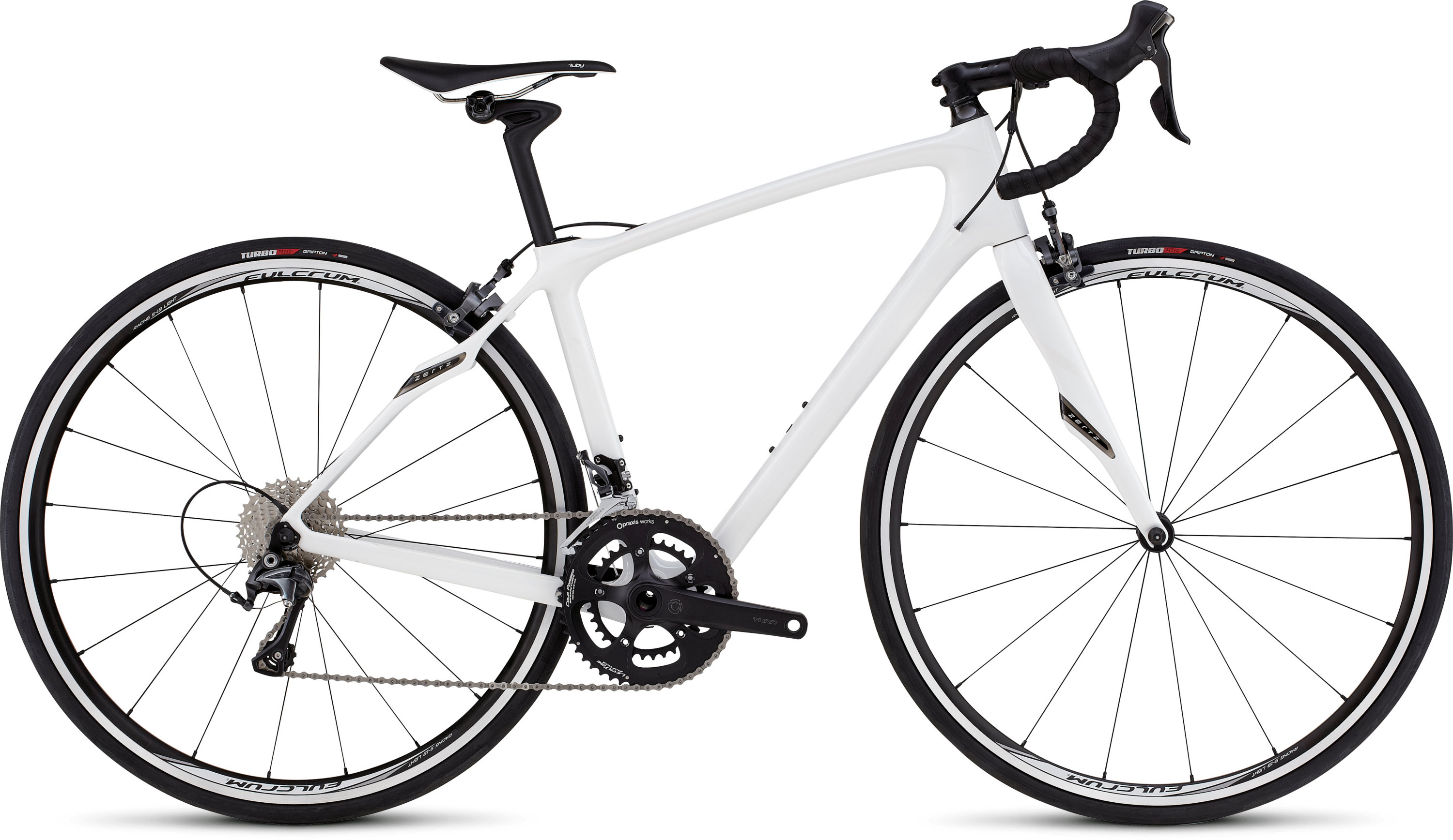 SPECIALIZED RUBY COMP MET WHT/WHT 51 - Alpha Bikes