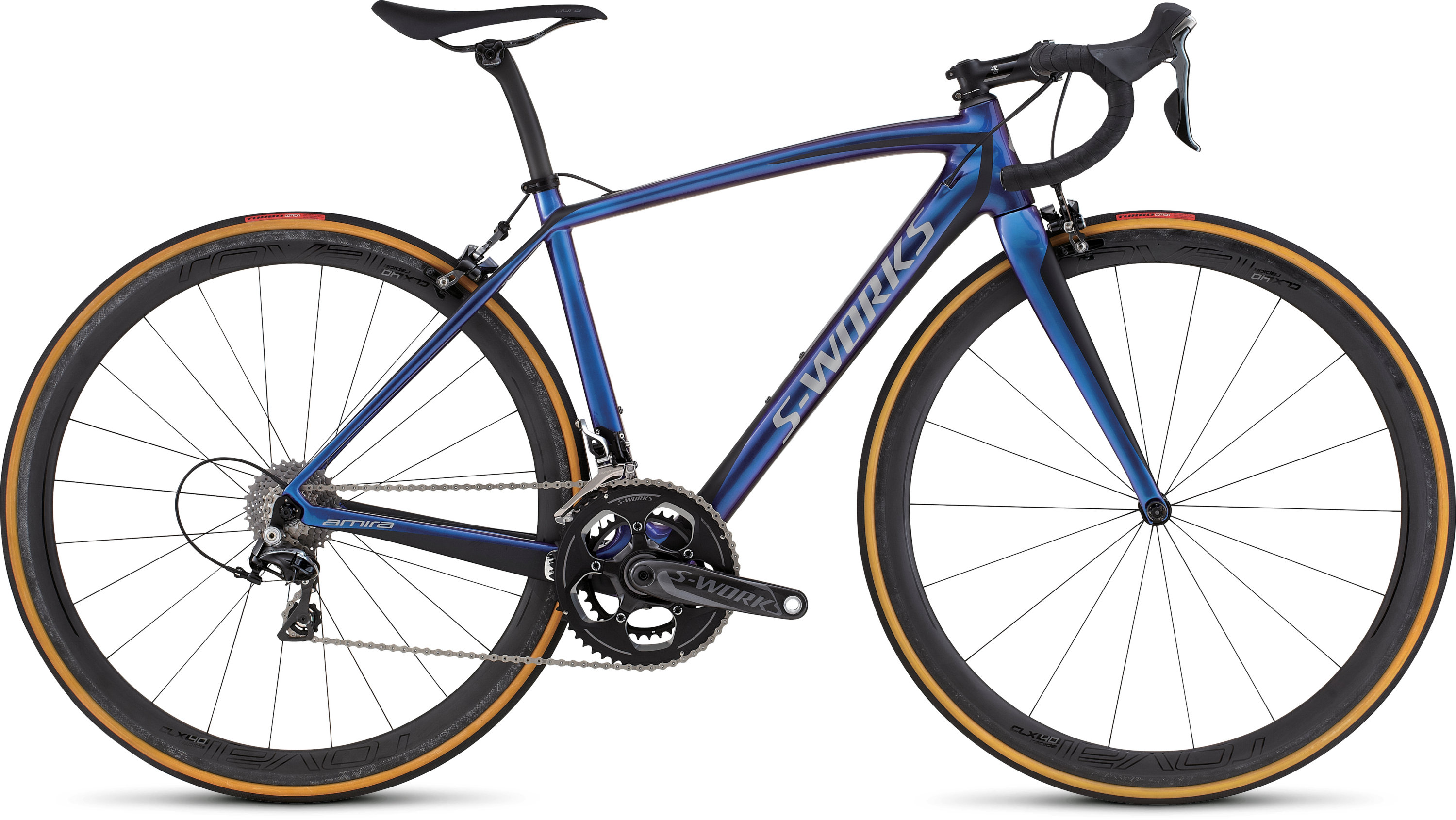 SPECIALIZED SW AMIRA SL4 CMLN/BLK/SIL 44 - Bikedreams & Dustbikes