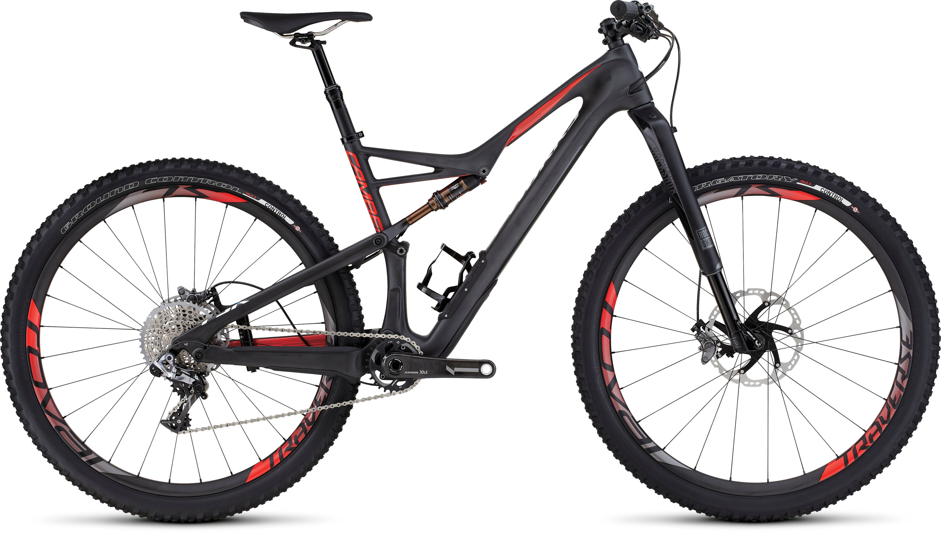SPECIALIZED SW CAMBER FSR CARBON 29 CARB/RKTRED/FLORED S - Bikedreams & Dustbikes