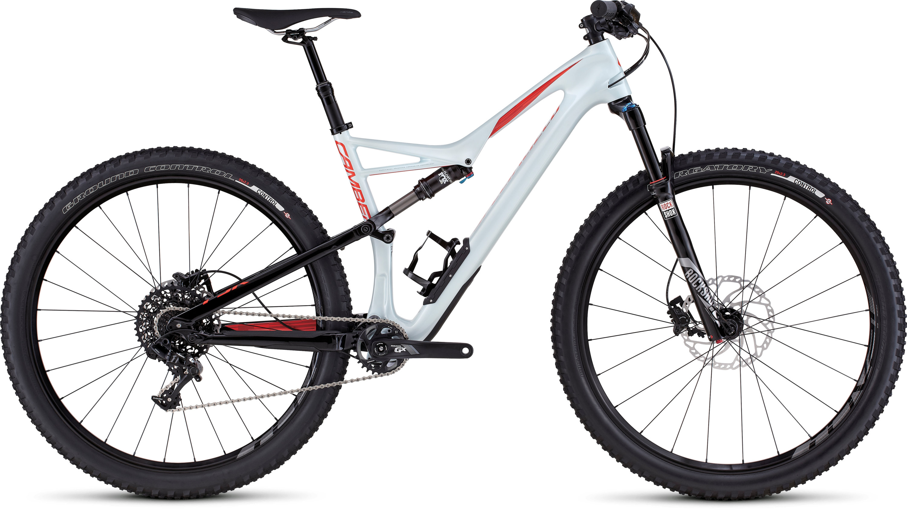 SPECIALIZED CAMBER FSR COMP CARBON 29 BBYBLU/RKTRED S - Bikedreams & Dustbikes