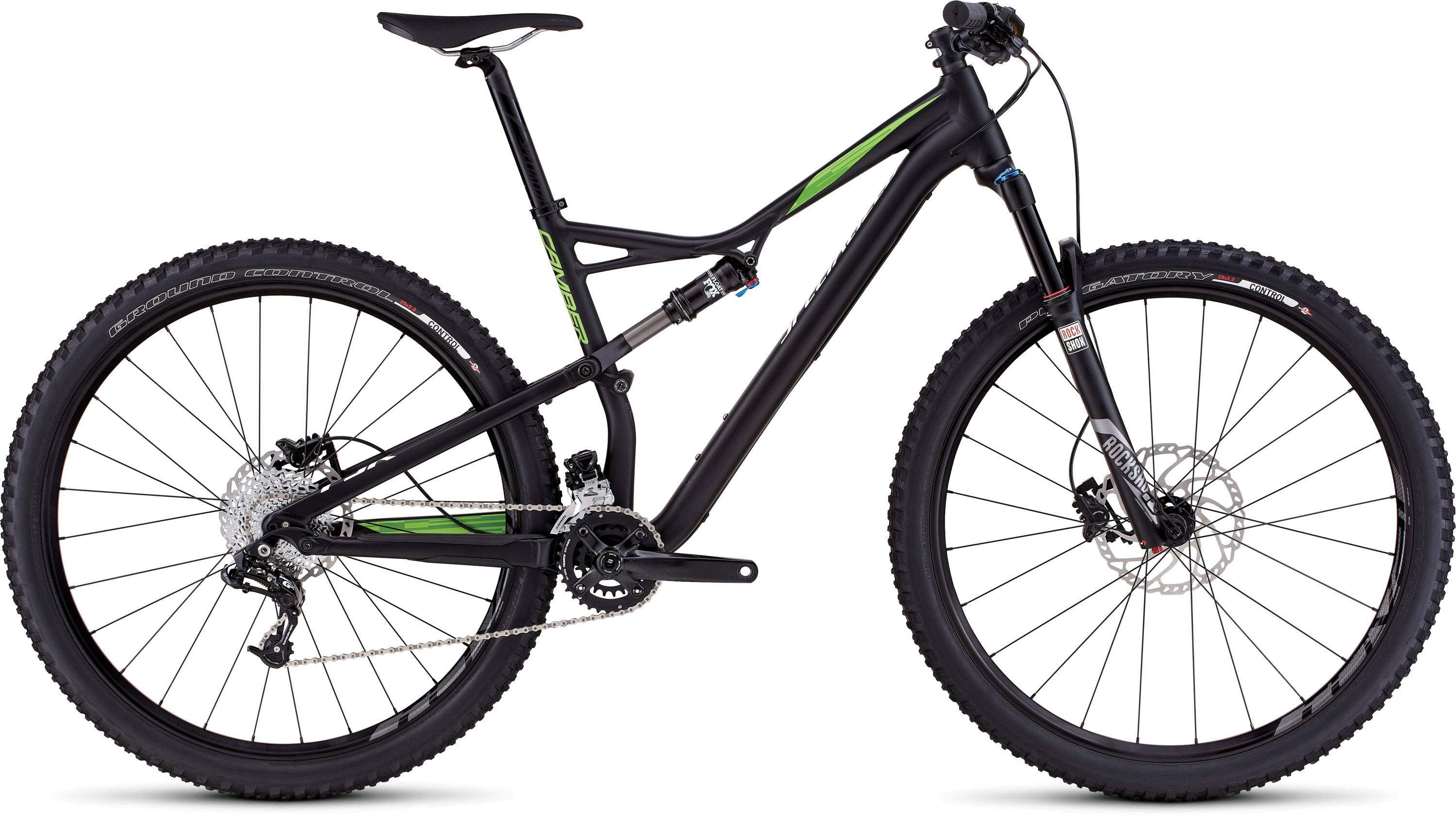 SPECIALIZED CAMBER FSR COMP 29 BLK/MONGRN/HYP S - Bikedreams & Dustbikes