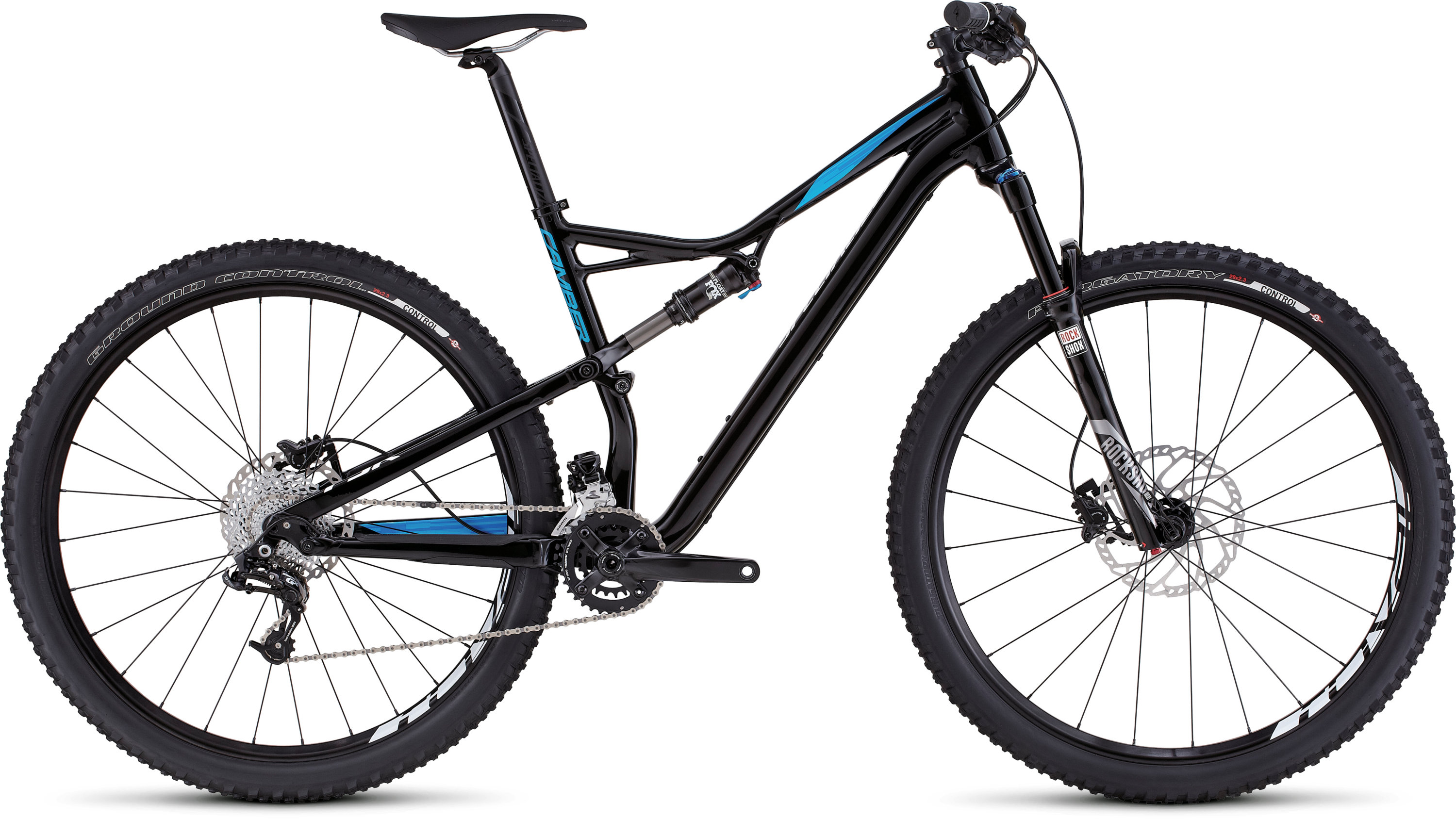 SPECIALIZED CAMBER FSR COMP 29 BLK/CYAN/WHT S - Bikedreams & Dustbikes
