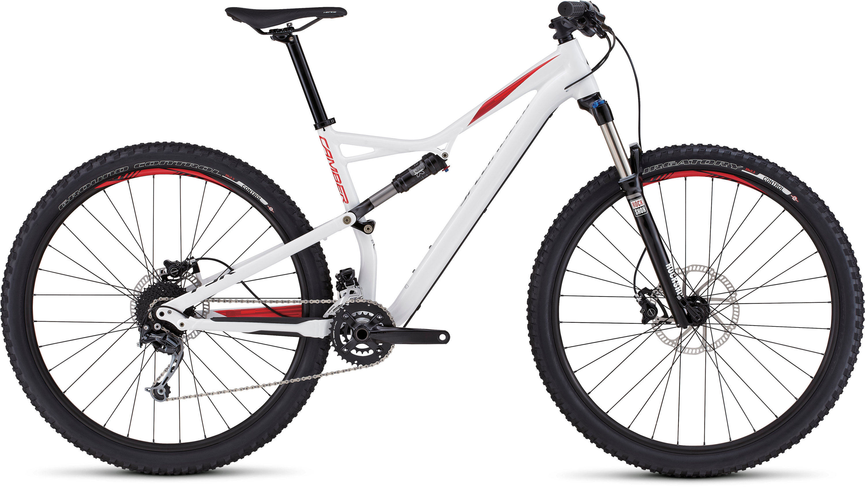 SPECIALIZED CAMBER FSR 29 WHT/FLORED/BLK S - Bikedreams & Dustbikes