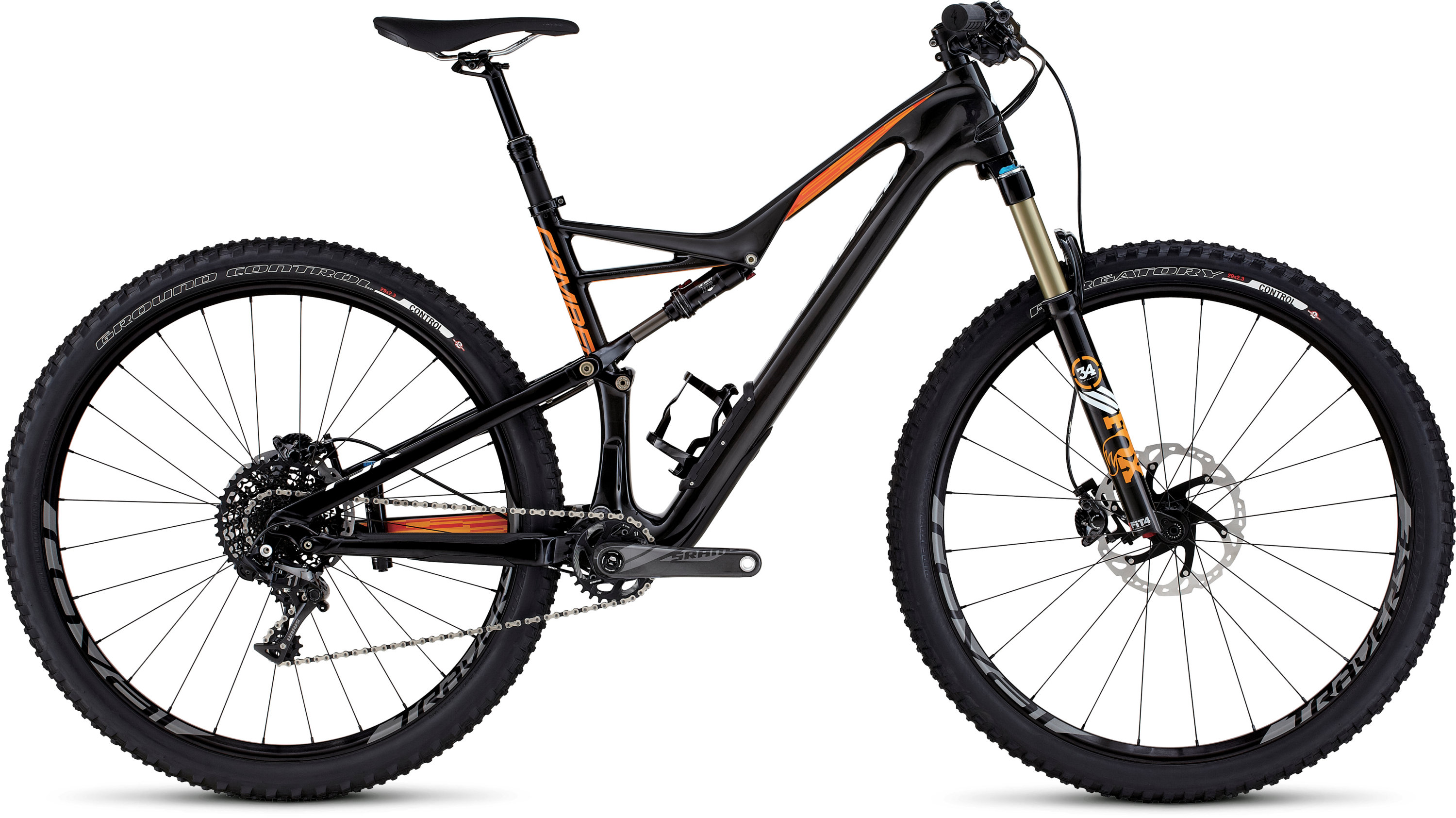 SPECIALIZED CAMBER FSR EXPERT CARBON 29 CARB/GLDORG/WHT S - Bikedreams & Dustbikes