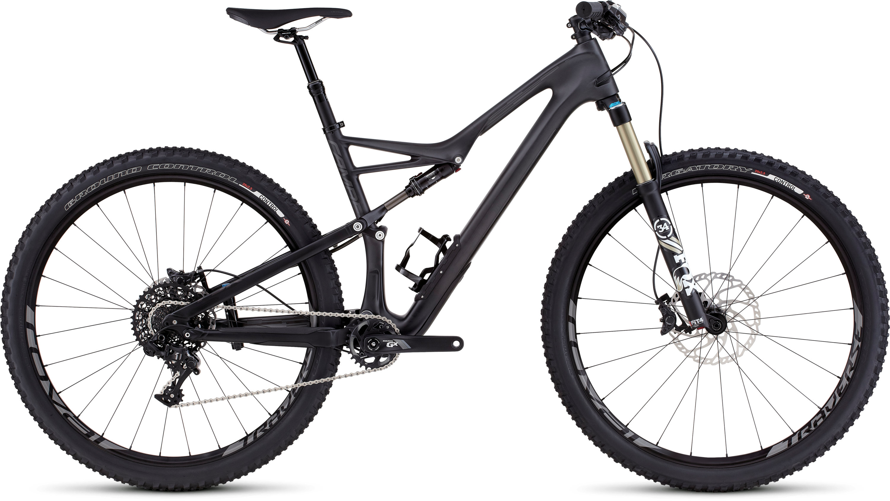 SPECIALIZED CAMBER FSR ELITE CARBON 29 BLK/CHAR S - schneider-sports