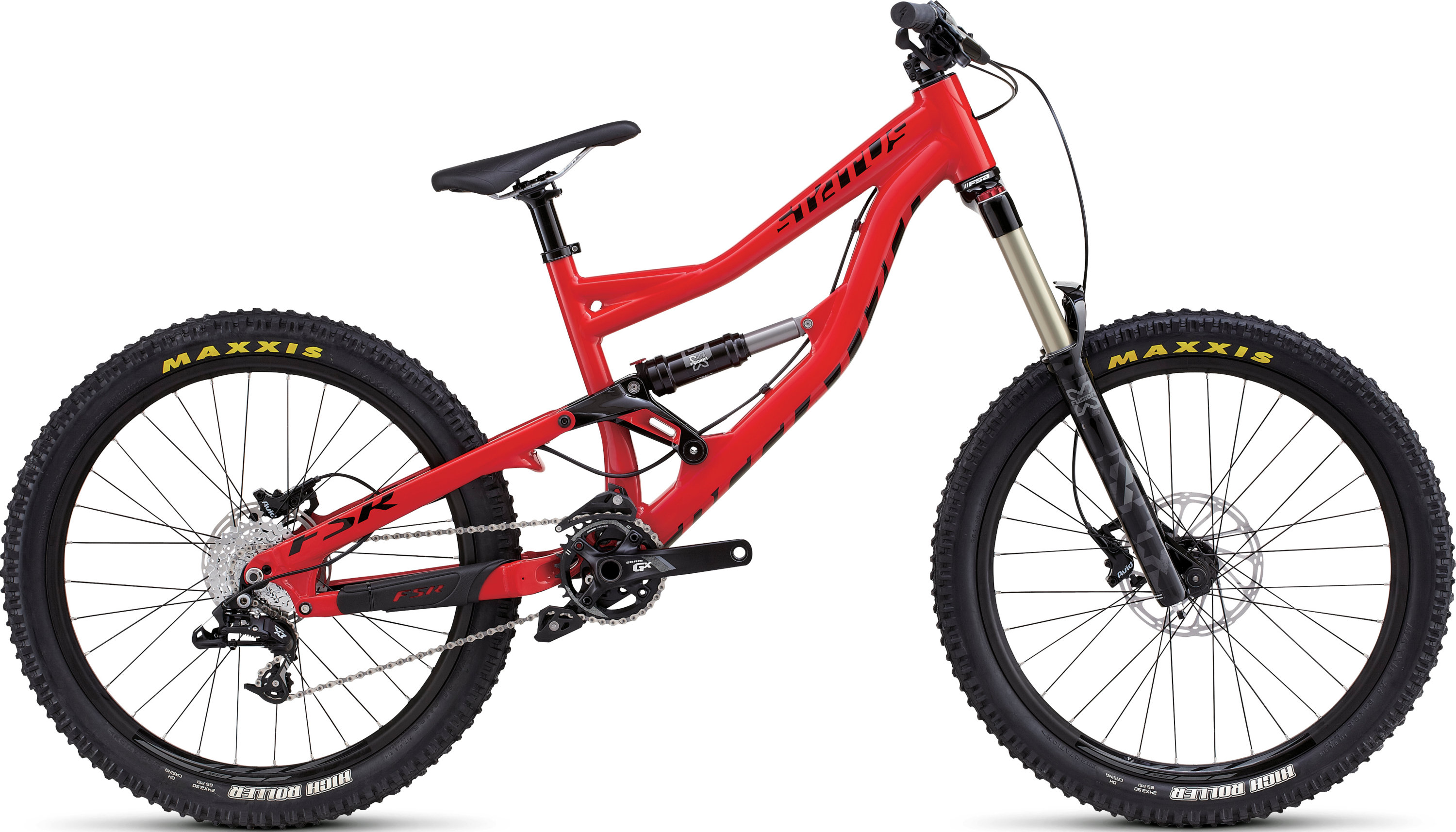 SPECIALIZED STATUS FSR GROM RED/BLK XS - Bikedreams & Dustbikes
