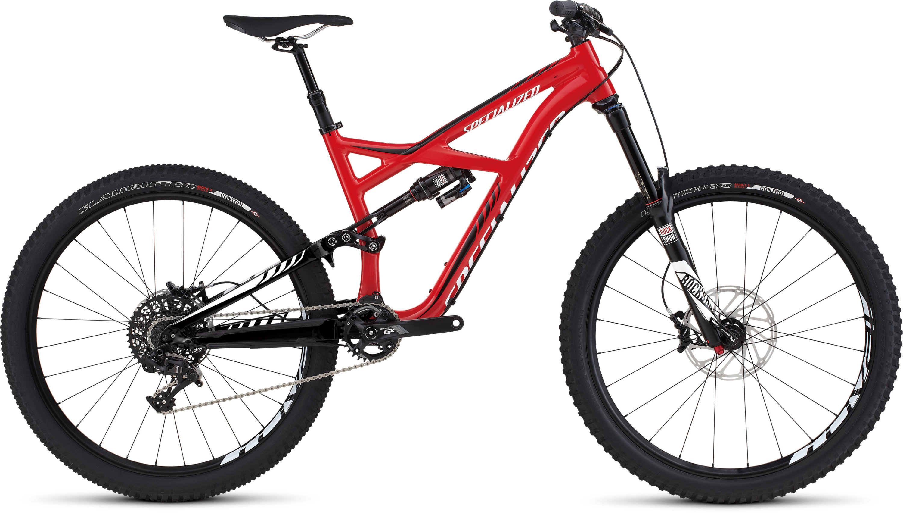 SPECIALIZED ENDURO FSR ELITE 650B RED/BLK/WHT S - Bikedreams & Dustbikes