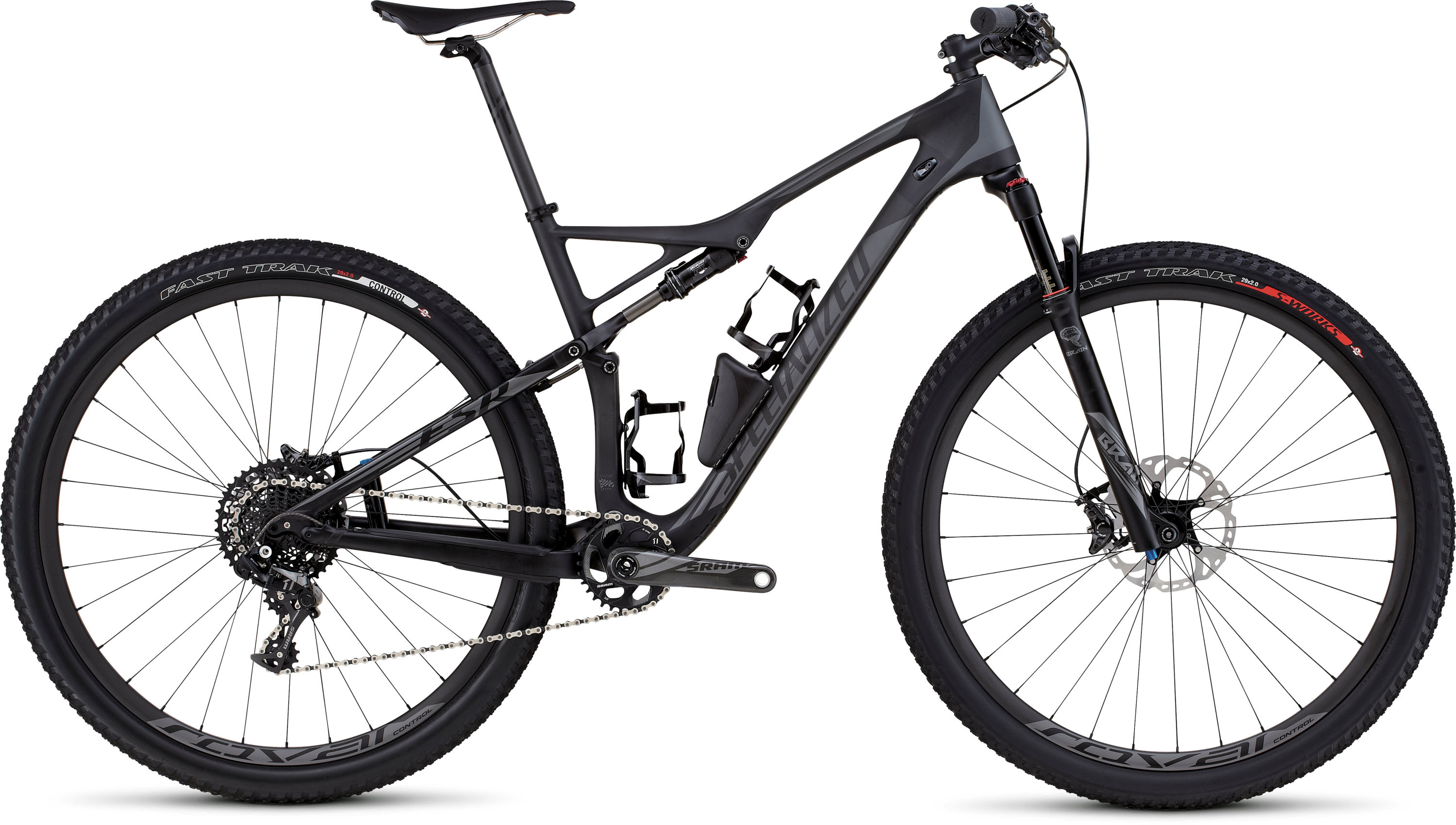 SPECIALIZED EPIC FSR EXPERT CARBON WC 29 CARB/CHAR M - SPECIALIZED EPIC FSR EXPERT CARBON WC 29 CARB/CHAR M