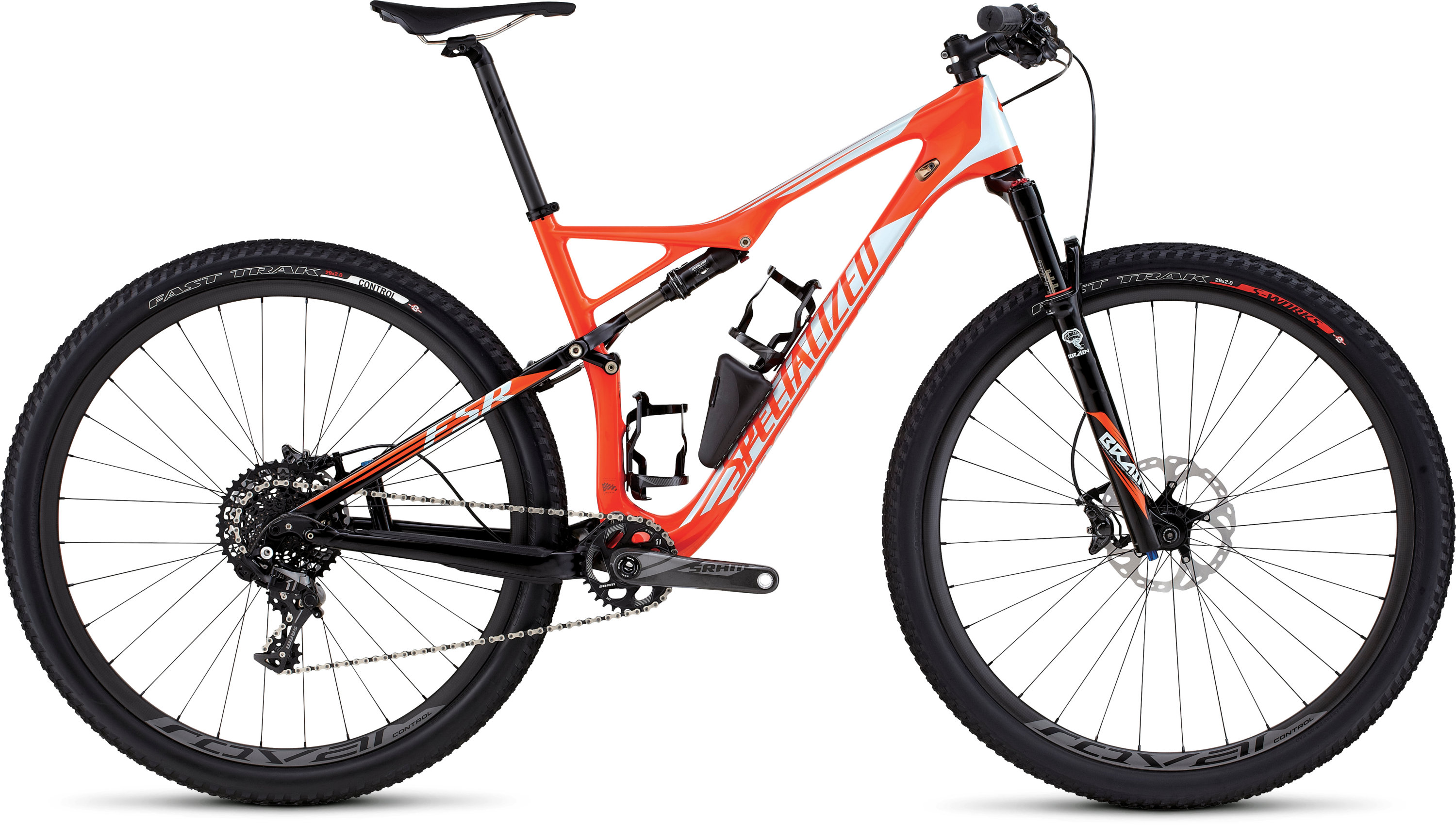 SPECIALIZED EPIC FSR EXPERT CARBON WC 29 MXORG/BBYBLU S - Bikedreams & Dustbikes