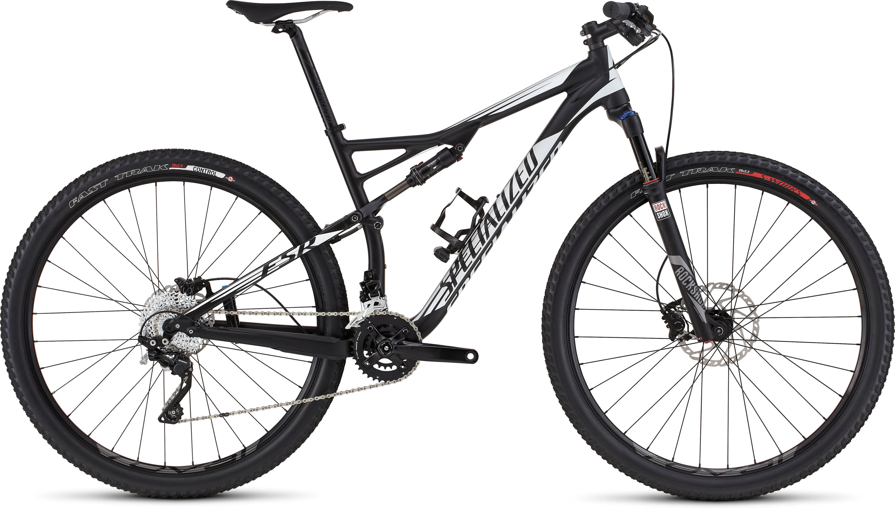 SPECIALIZED EPIC FSR COMP 29 BLK/WHT XL - SPECIALIZED EPIC FSR COMP 29 BLK/WHT XL