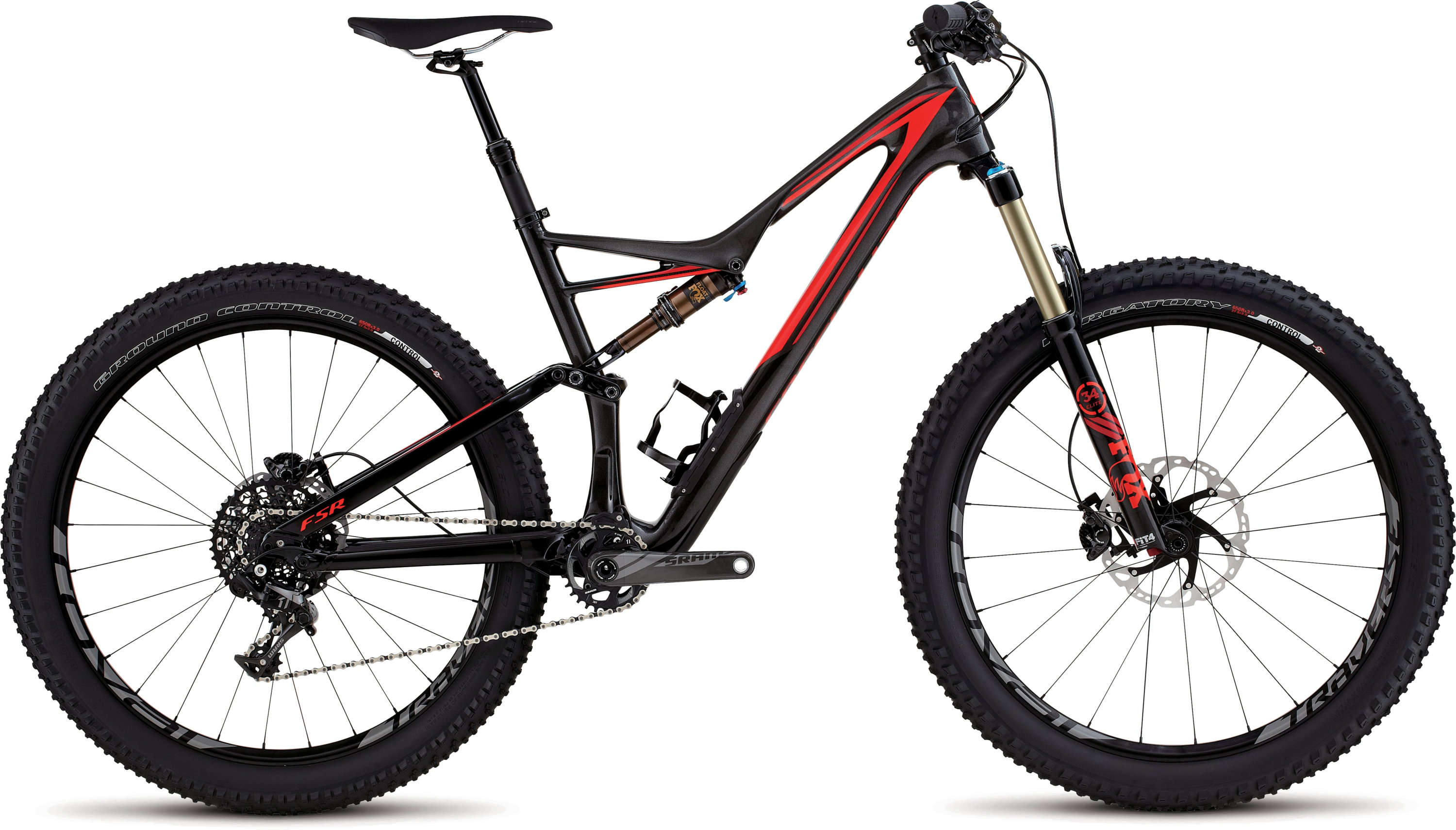 SPECIALIZED SJ FSR EXPERT CARBON 6FATTIE SILTNTCARB/RKTRED/FLORED XL - schneider-sports