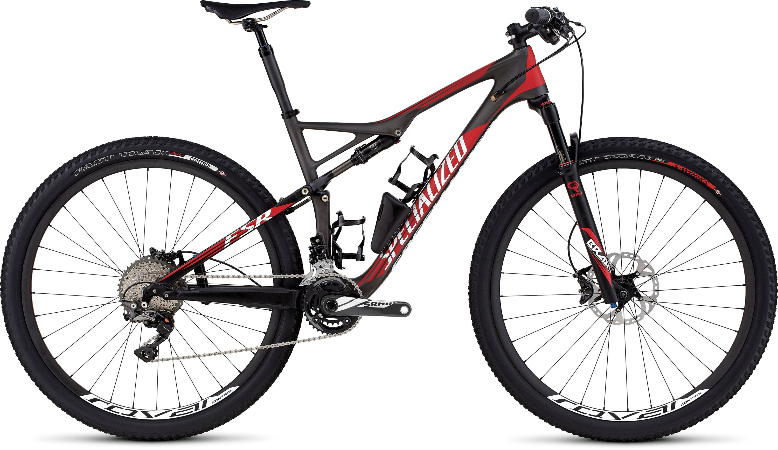 SPECIALIZED EPIC FSR EXPERT CARBON 29 CHARTNTCARB/RED/WHT S - schneider-sports