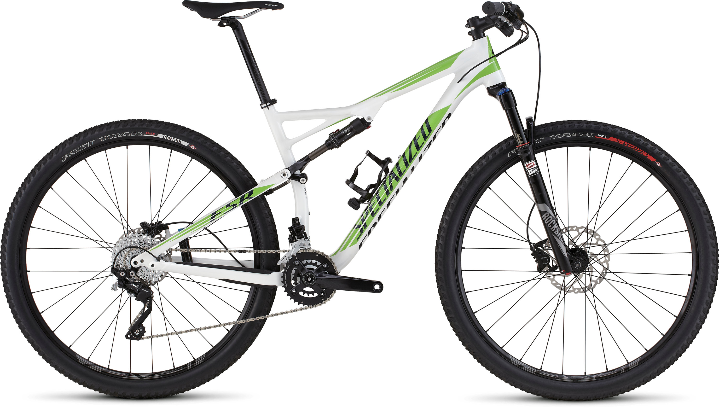SPECIALIZED EPIC FSR COMP 29 WHT/MONGRN/NVY L - SPECIALIZED EPIC FSR COMP 29 WHT/MONGRN/NVY L