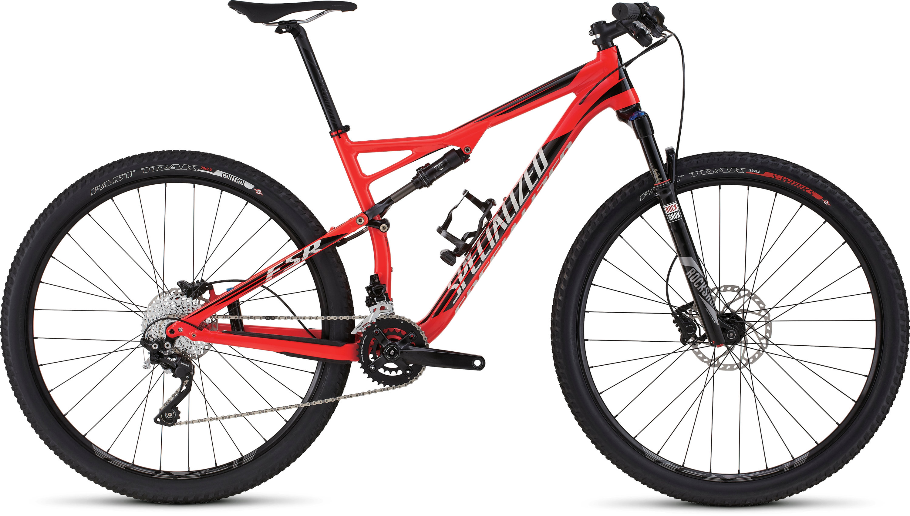 SPECIALIZED EPIC FSR COMP 29 RKTRED/BLK/DRTYWHT XL - SPECIALIZED EPIC FSR COMP 29 RKTRED/BLK/DRTYWHT XL