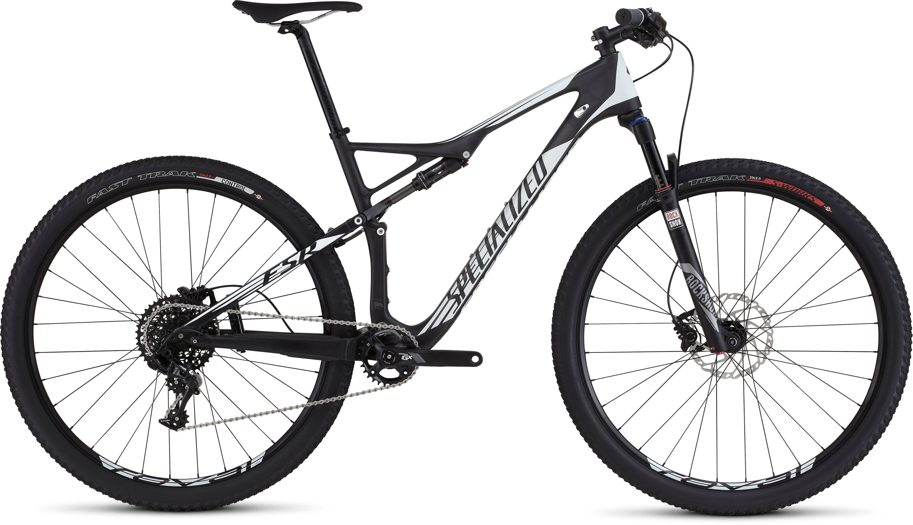 SPECIALIZED EPIC FSR COMP CARBON WC 29 CARB/WHT L - SPECIALIZED EPIC FSR COMP CARBON WC 29 CARB/WHT L
