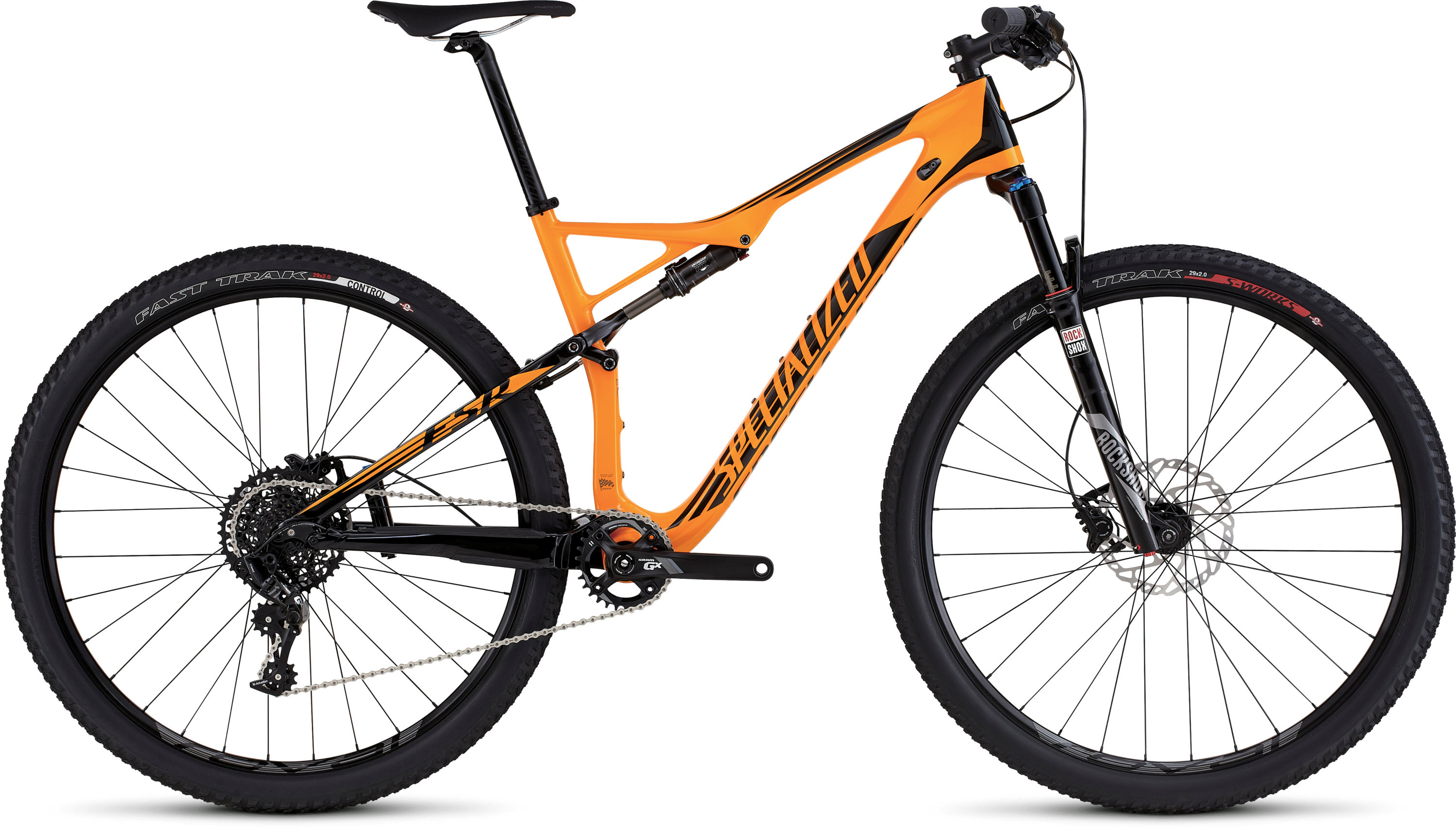 SPECIALIZED EPIC FSR COMP CARBON WC 29 GLDORG/BLK S - schneider-sports