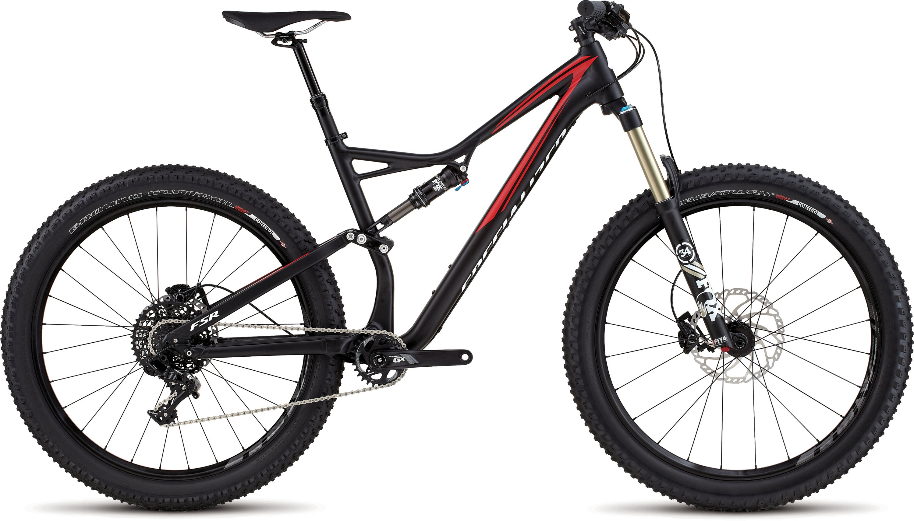 SPECIALIZED SJ FSR COMP 6FATTIE BLK/FLORED/WHT XL - Alpha Bikes