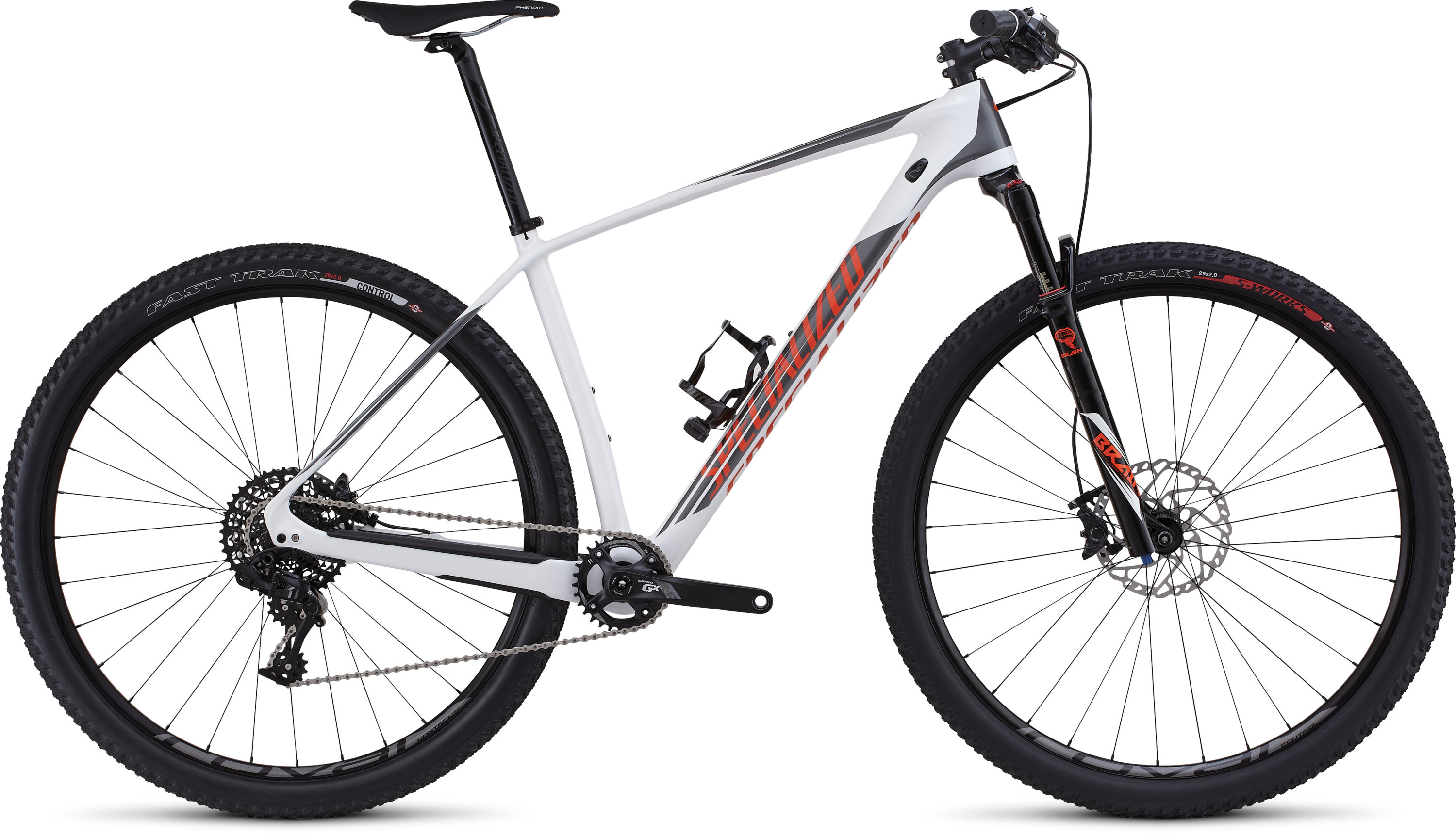 SPECIALIZED SJ HT ELITE CARBON WC 29 WHT/CHAR/MXORG M - Alpha Bikes