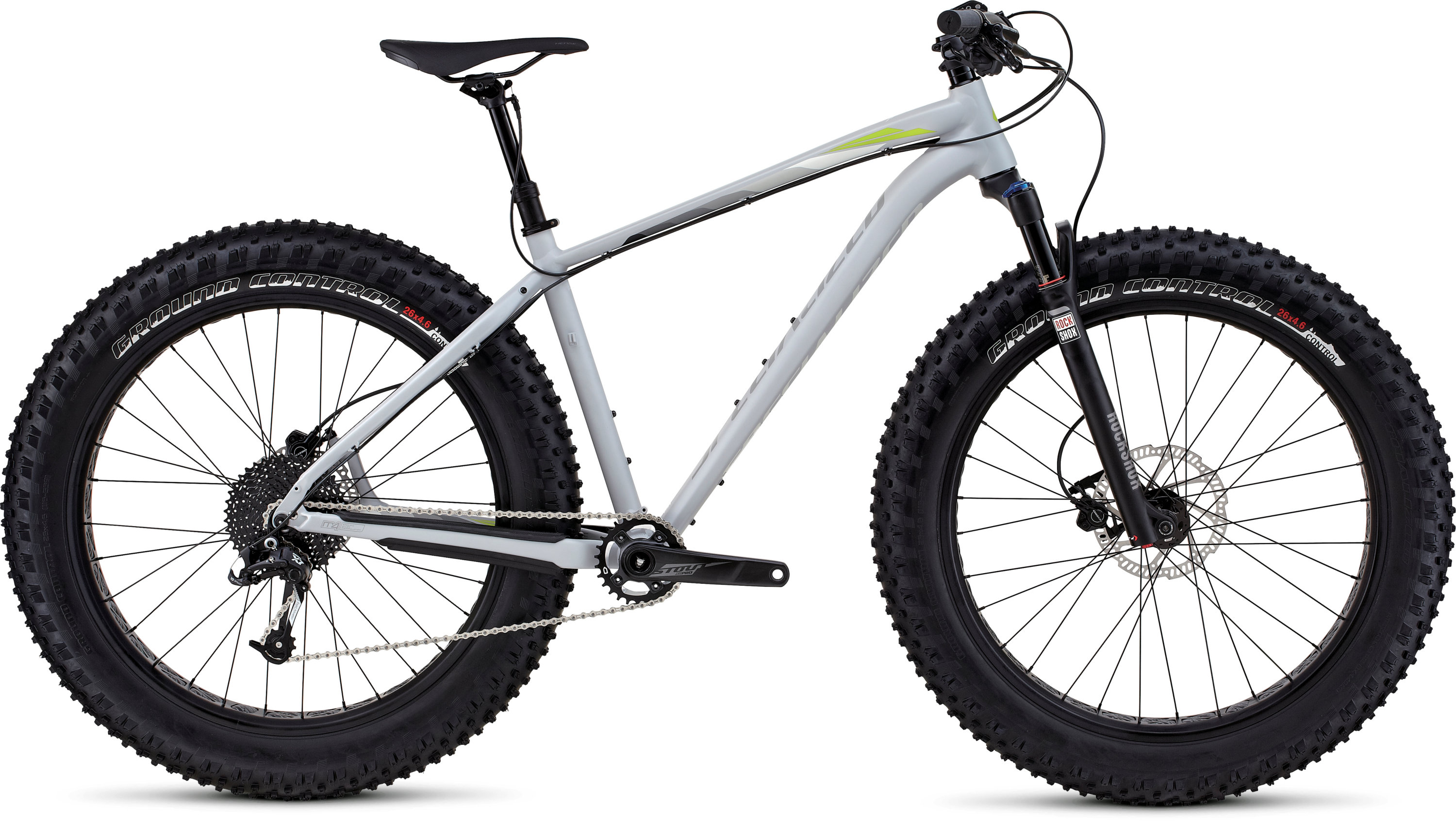 Specialized FatBoy Trail Satin Filthy White/Hyper/Grey Fade M - Pulsschlag Bike+Sport