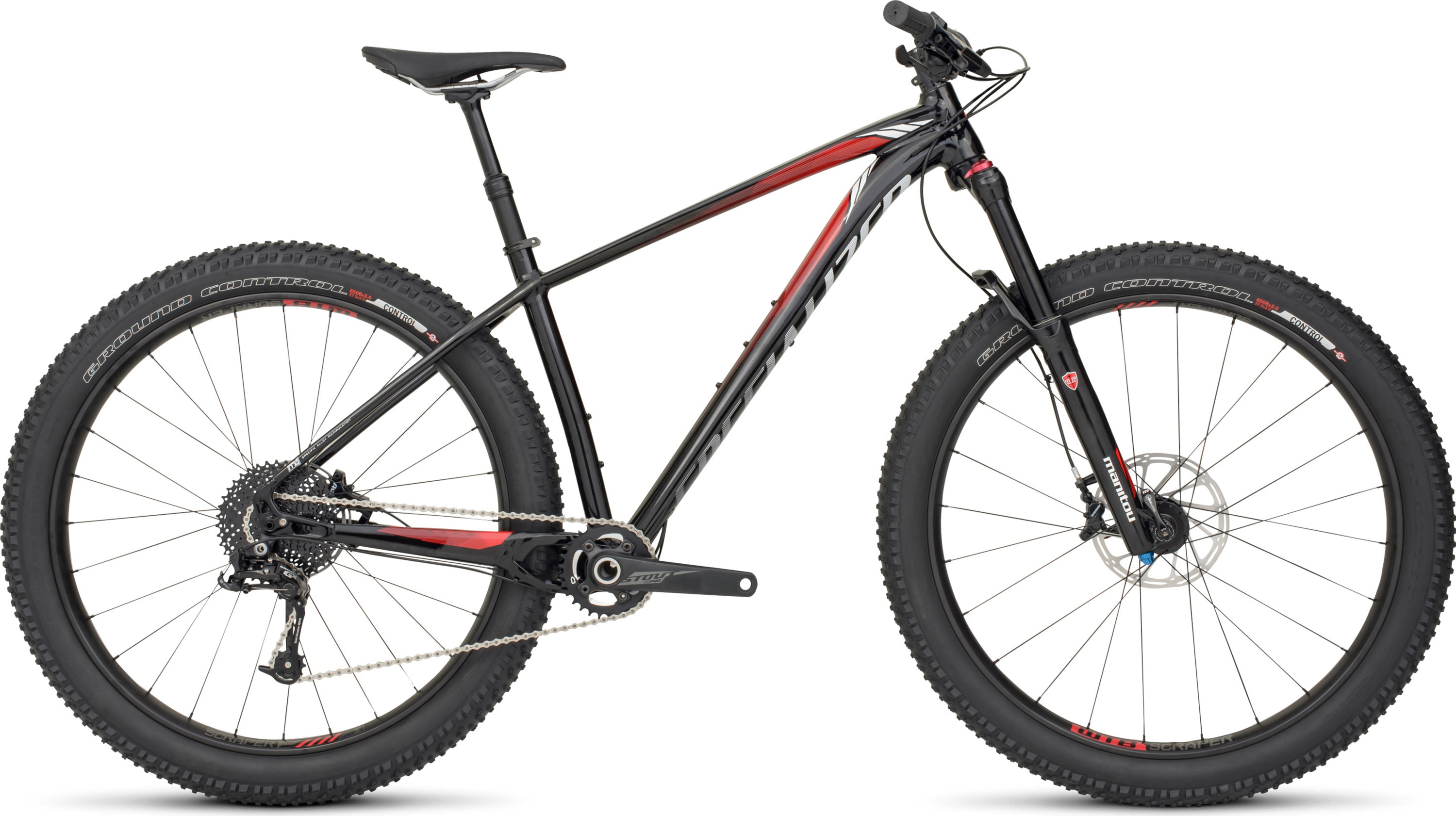 SPECIALIZED FUSE EXPERT 6FATTIE BLK/RED/WHT S - Bikedreams & Dustbikes