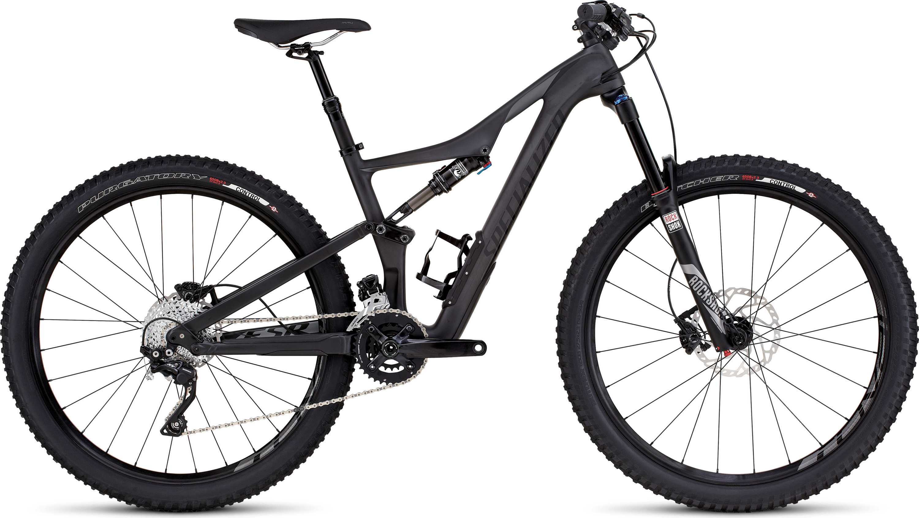 SPECIALIZED RHYME FSR COMP CARBON 650B CARB/CHAR S - Alpha Bikes