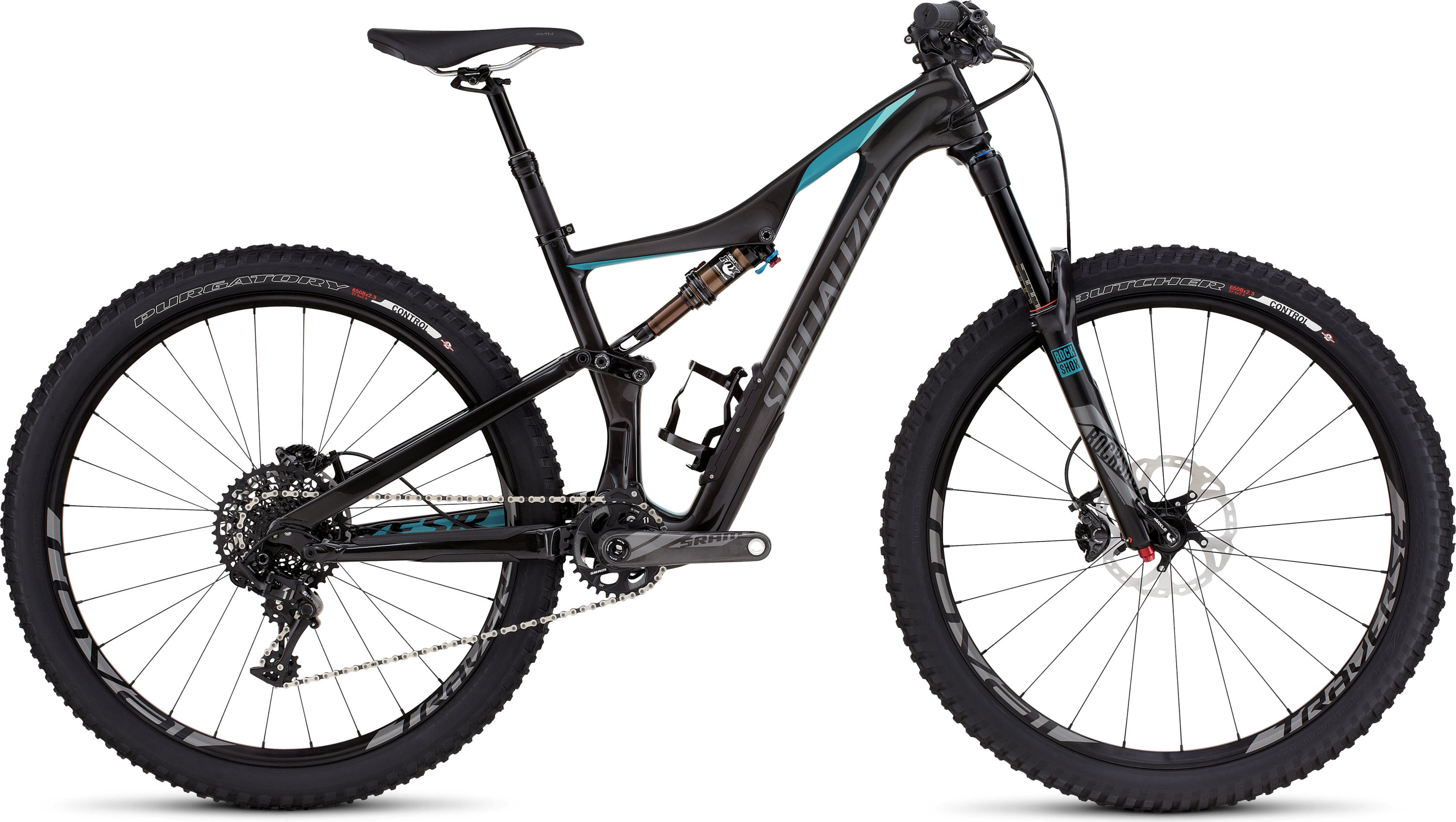 SPECIALIZED RHYME FSR EXPERT CARBON 650B CARB/TUR/CHAR XS - schneider-sports