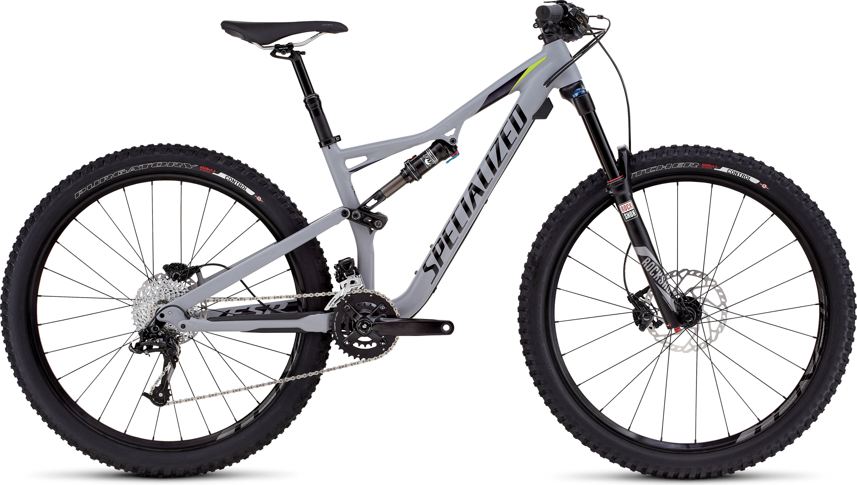 SPECIALIZED RHYME FSR COMP 650B CLGRY/DPNDGO/HYP XS - Bikedreams & Dustbikes