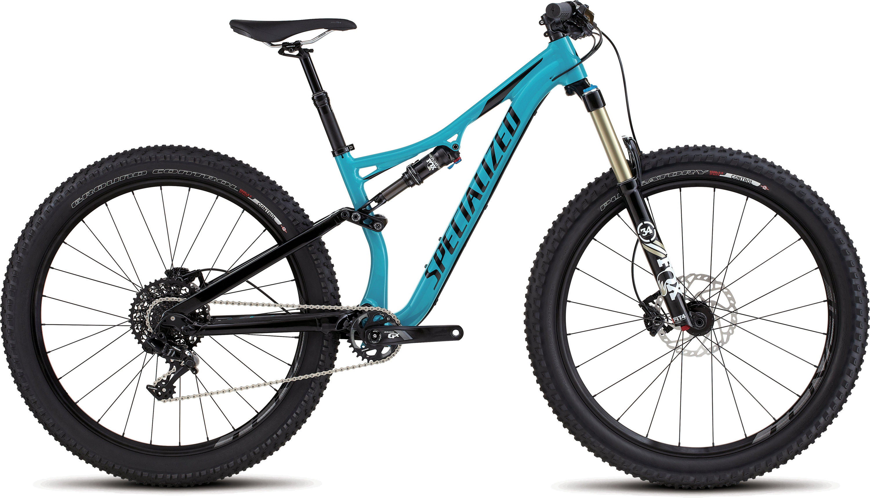 SPECIALIZED RHYME FSR COMP 6FATTIE TUR/BLK M - Alpha Bikes