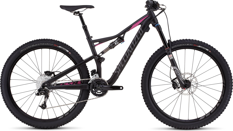SPECIALIZED RHYME FSR COMP 650B BLK/BRTPNK M - Alpha Bikes