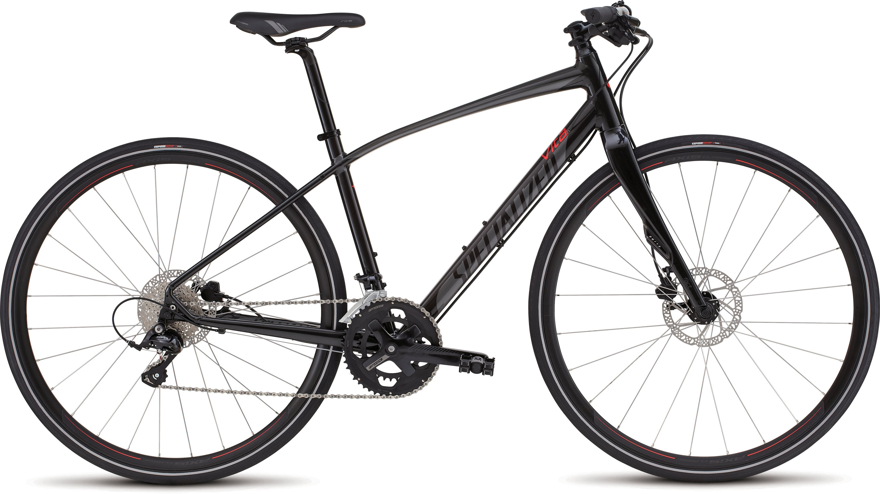 SPECIALIZED VITA ELITE DISC METBLK/CHAR/RKTRED XS - Bikedreams & Dustbikes
