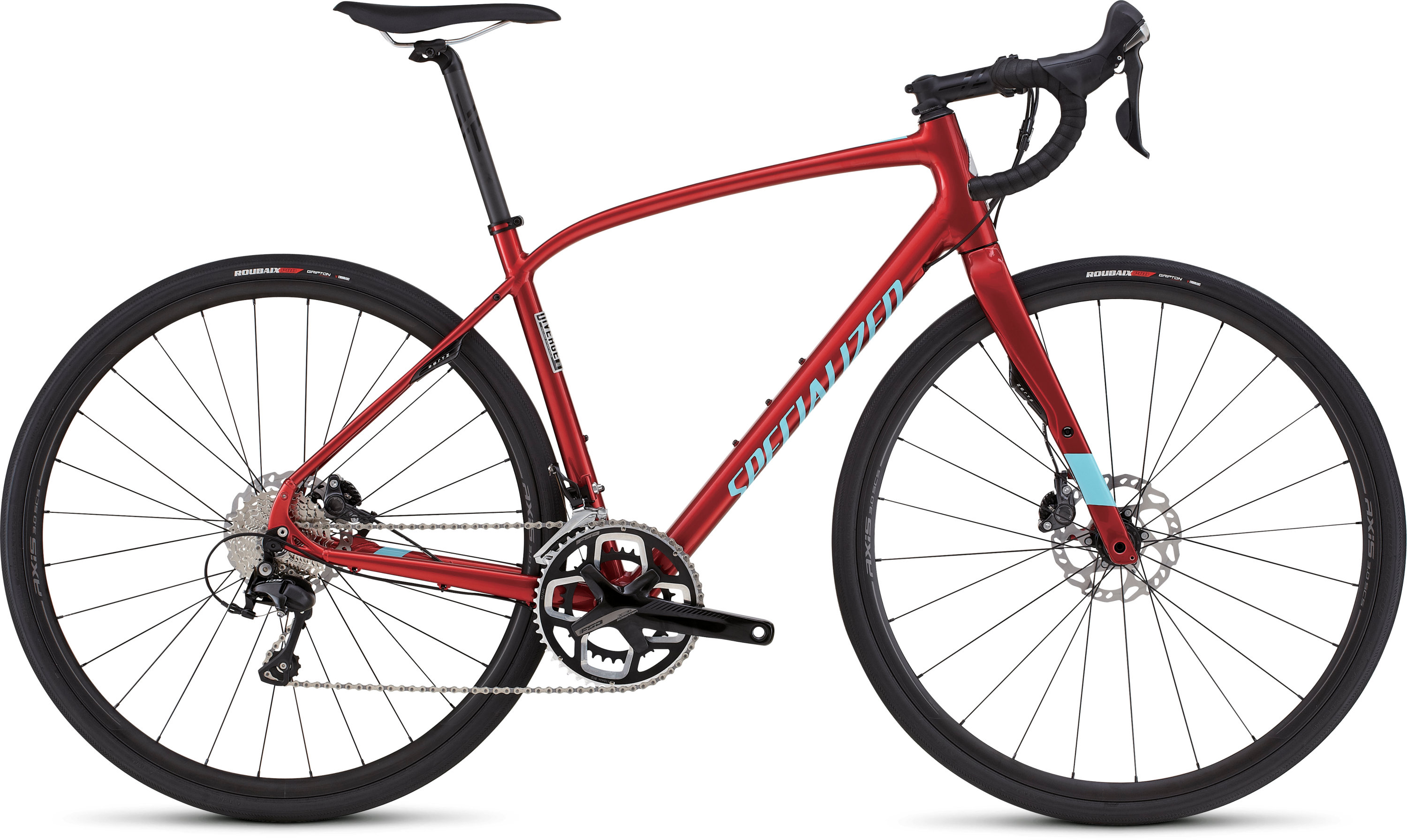 SPECIALIZED DIVERGE COMP DSW CEN CNDYRED/LTBLU 49 - schneider-sports